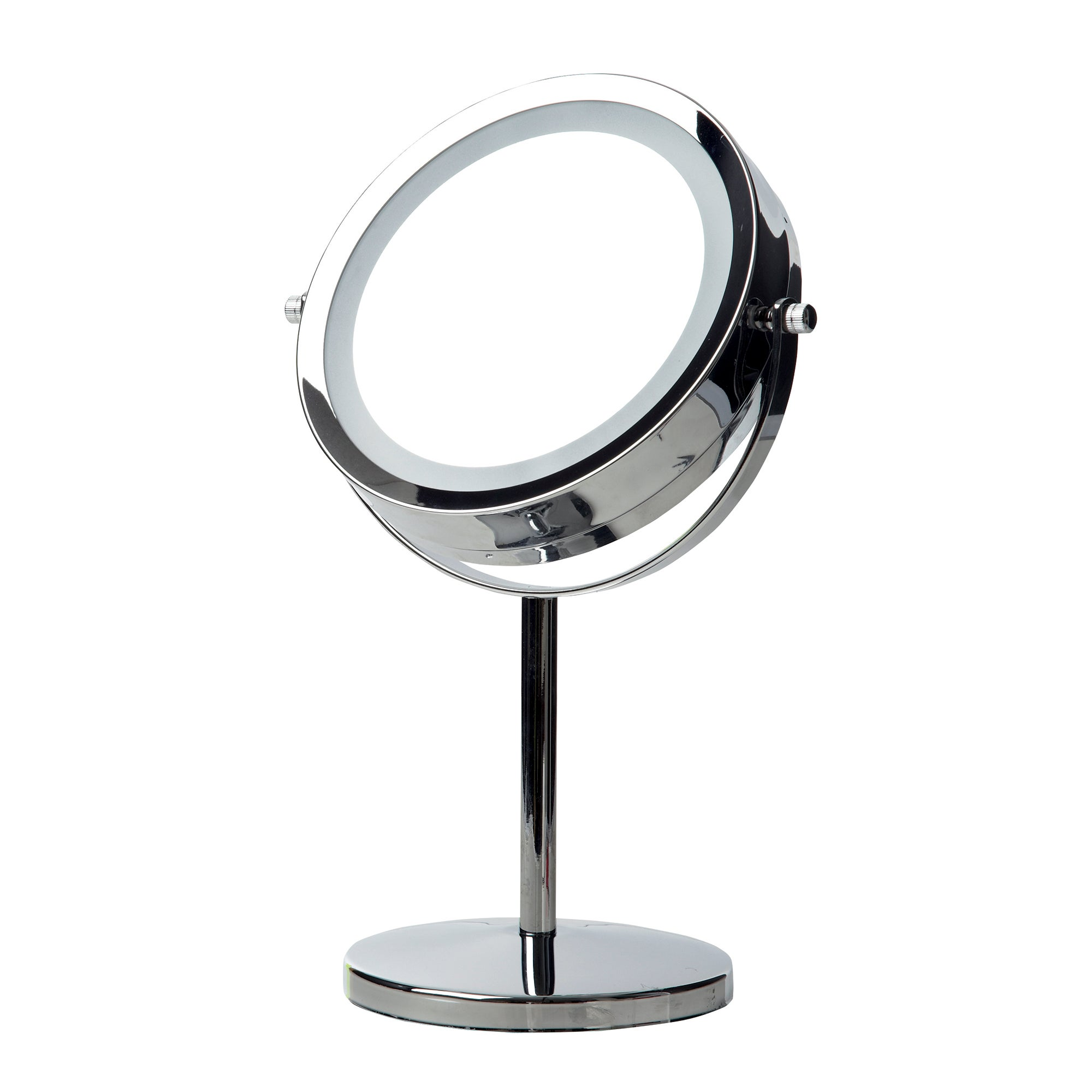 Double Sided LED Table Mirror