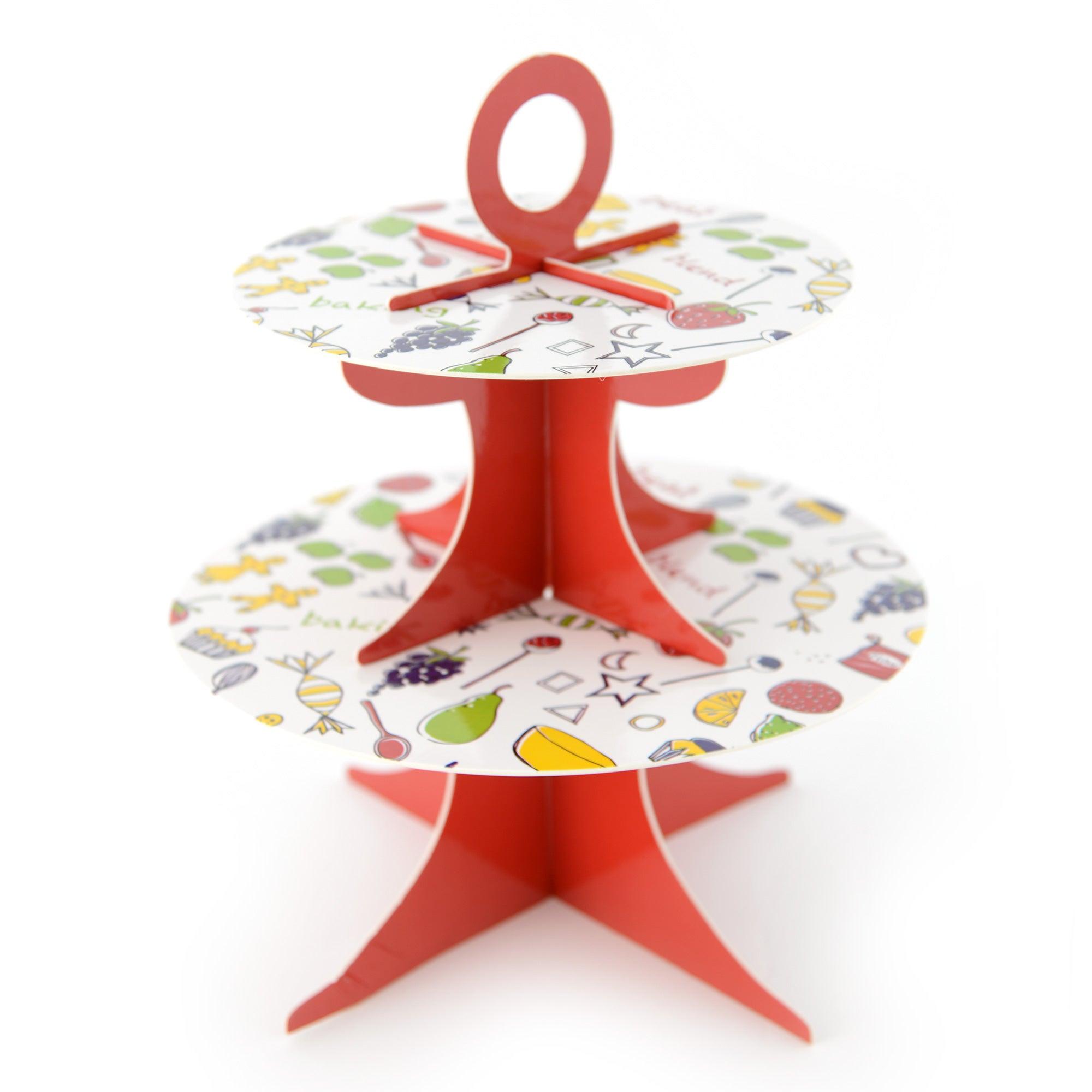 Kids Card Cake Stand