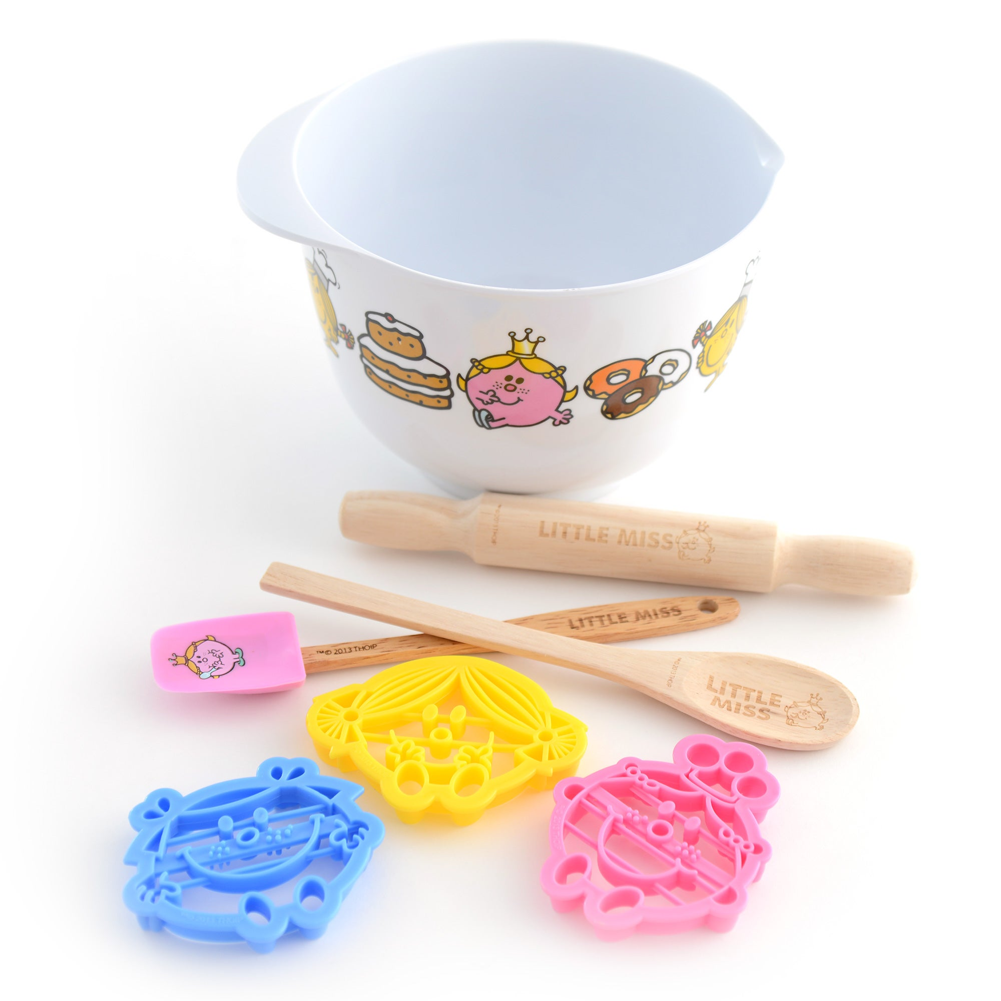 Kids Little Miss 7 Piece Baking Set
