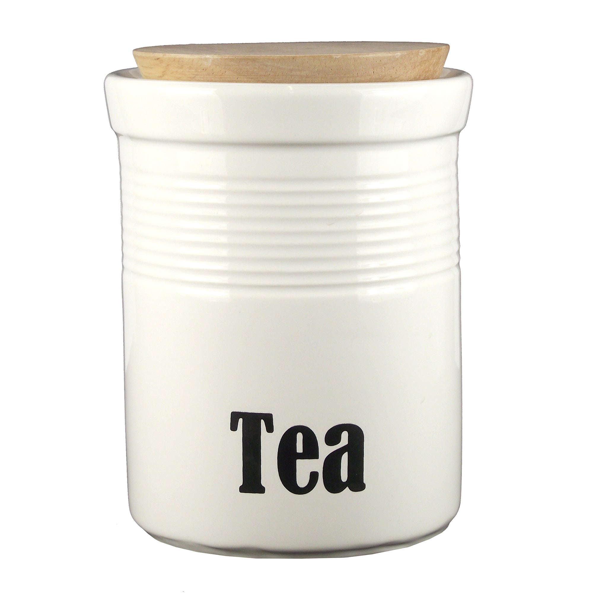 Back to Basics Collection Tea Canister