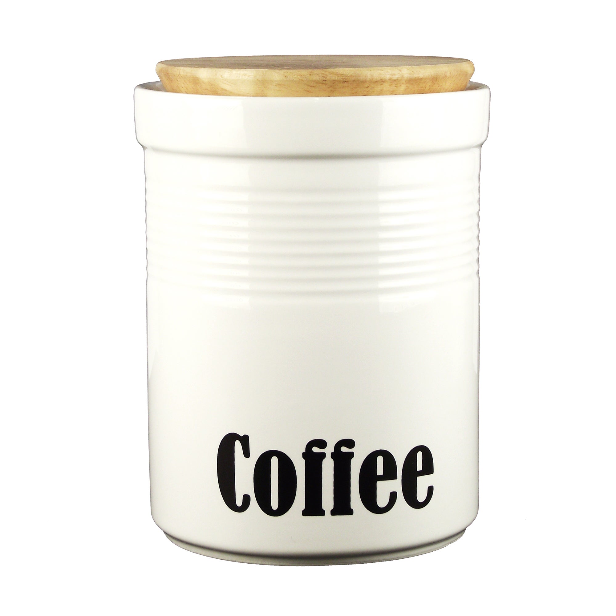 Back to Basics Collection Coffee Canister