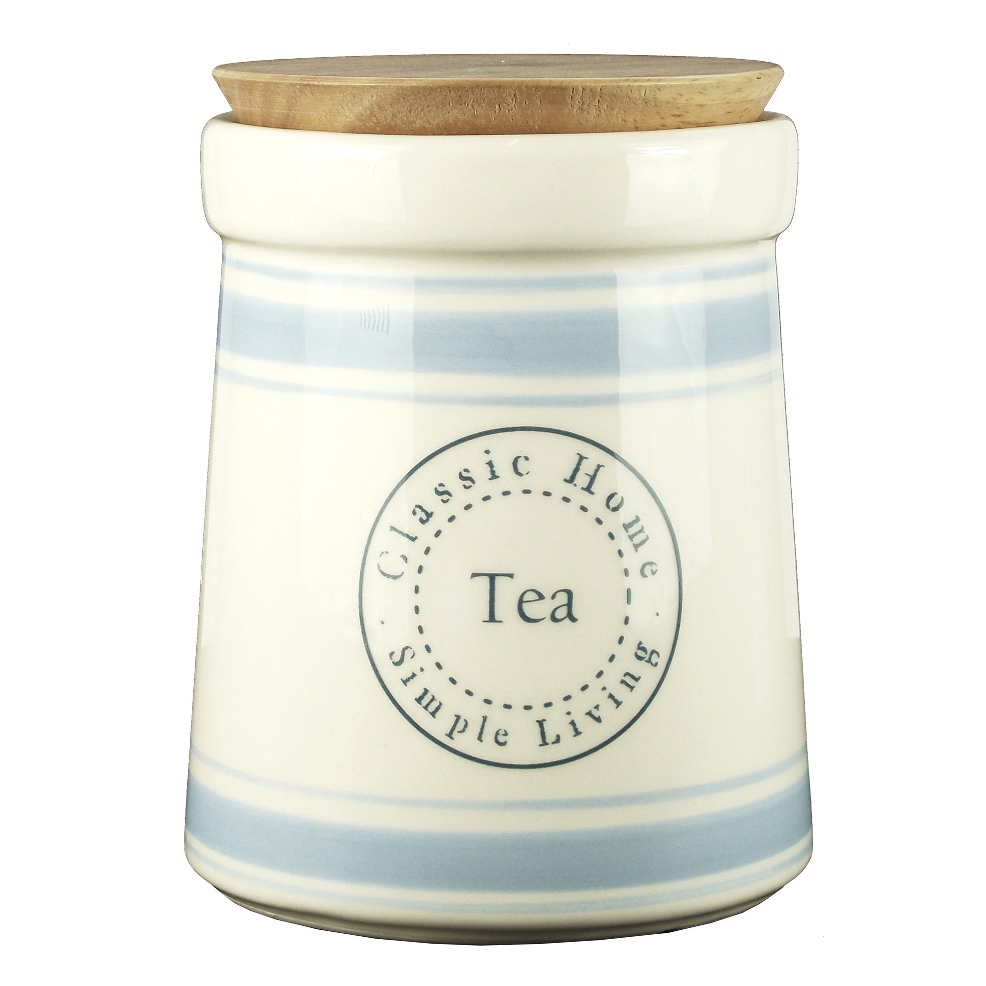 Classic Home Collection Tea Canister