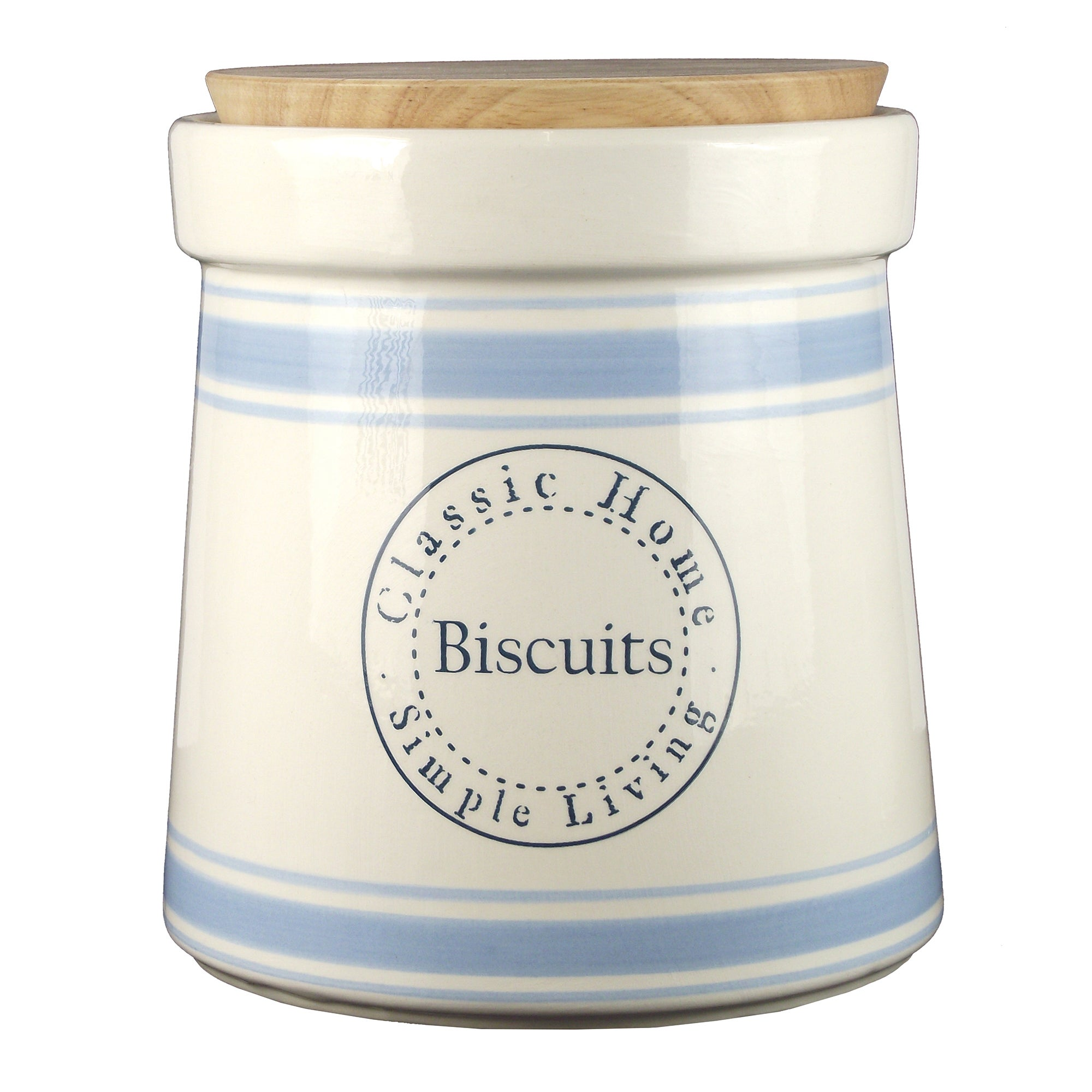 Classic Home Collection Biscuit Canister