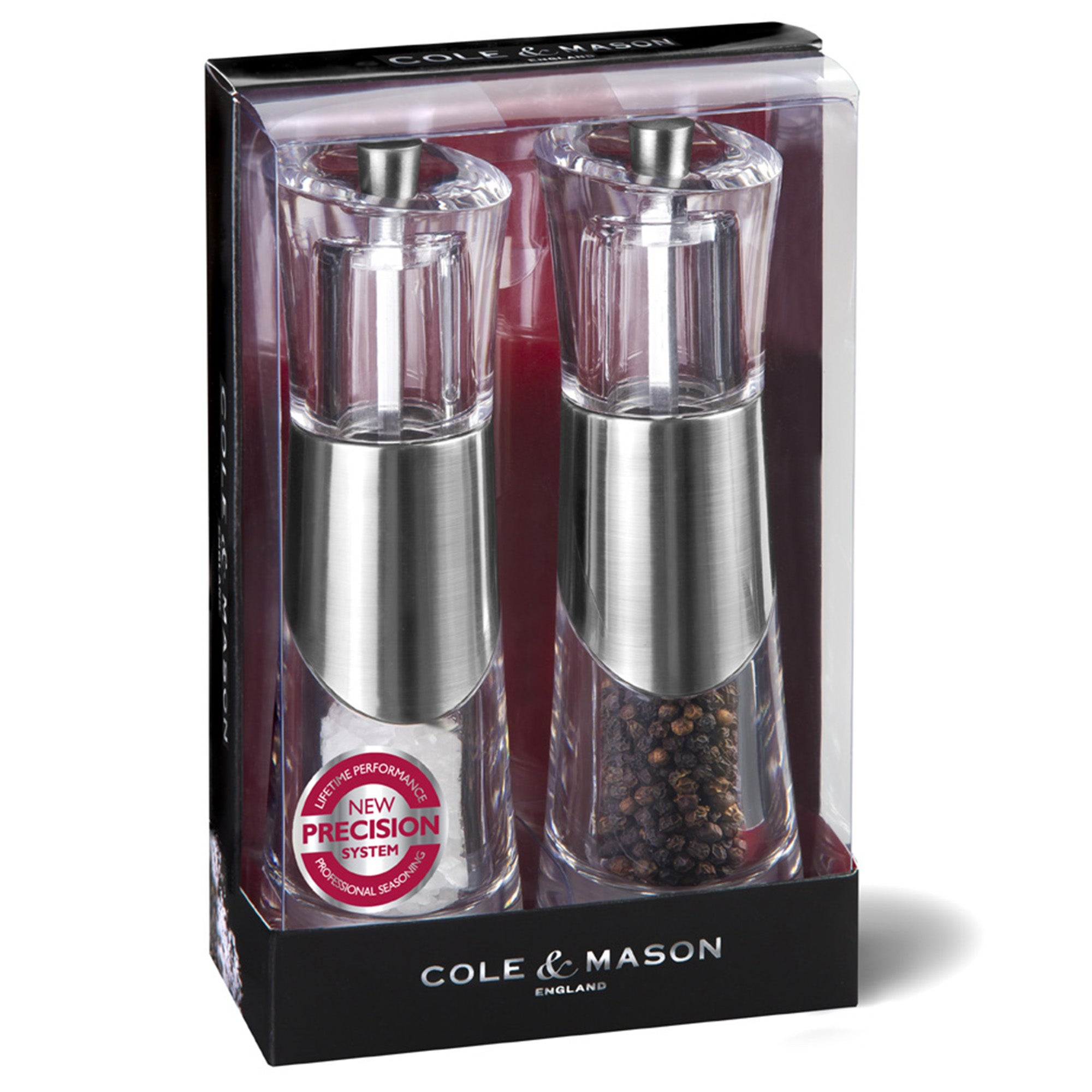 Cole & Mason Bobbi Precision Salt and Pepper Mill Set