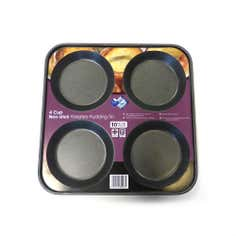 Teflon Four Cup Yorkshire Pudding Tray