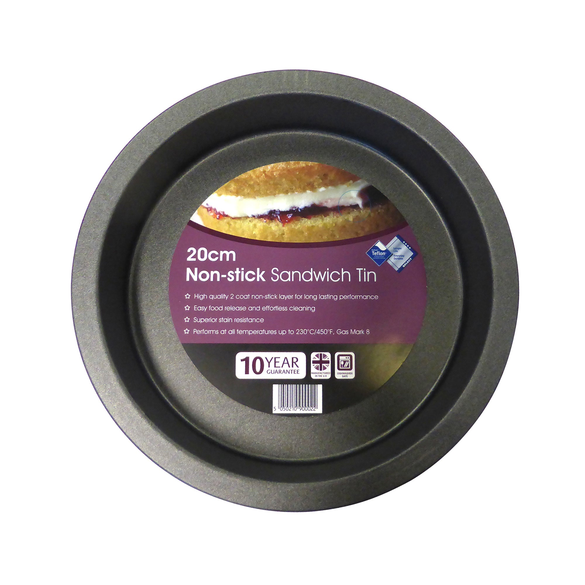 Teflon Deep Sandwich Tin