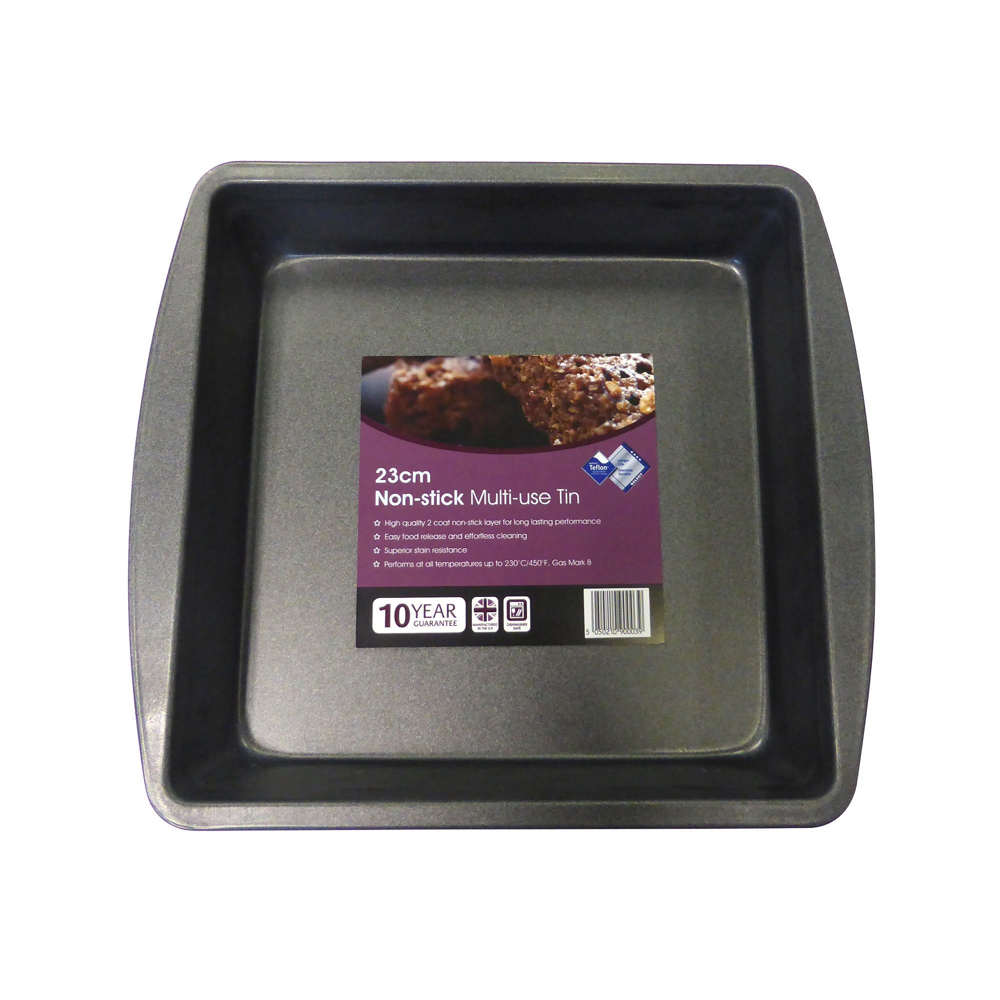 Teflon Multi-use Square Tin