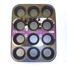Teflon 12 Cup Muffin Tray