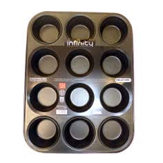 Infinity Glidex Twelve Cup Muffin Tray
