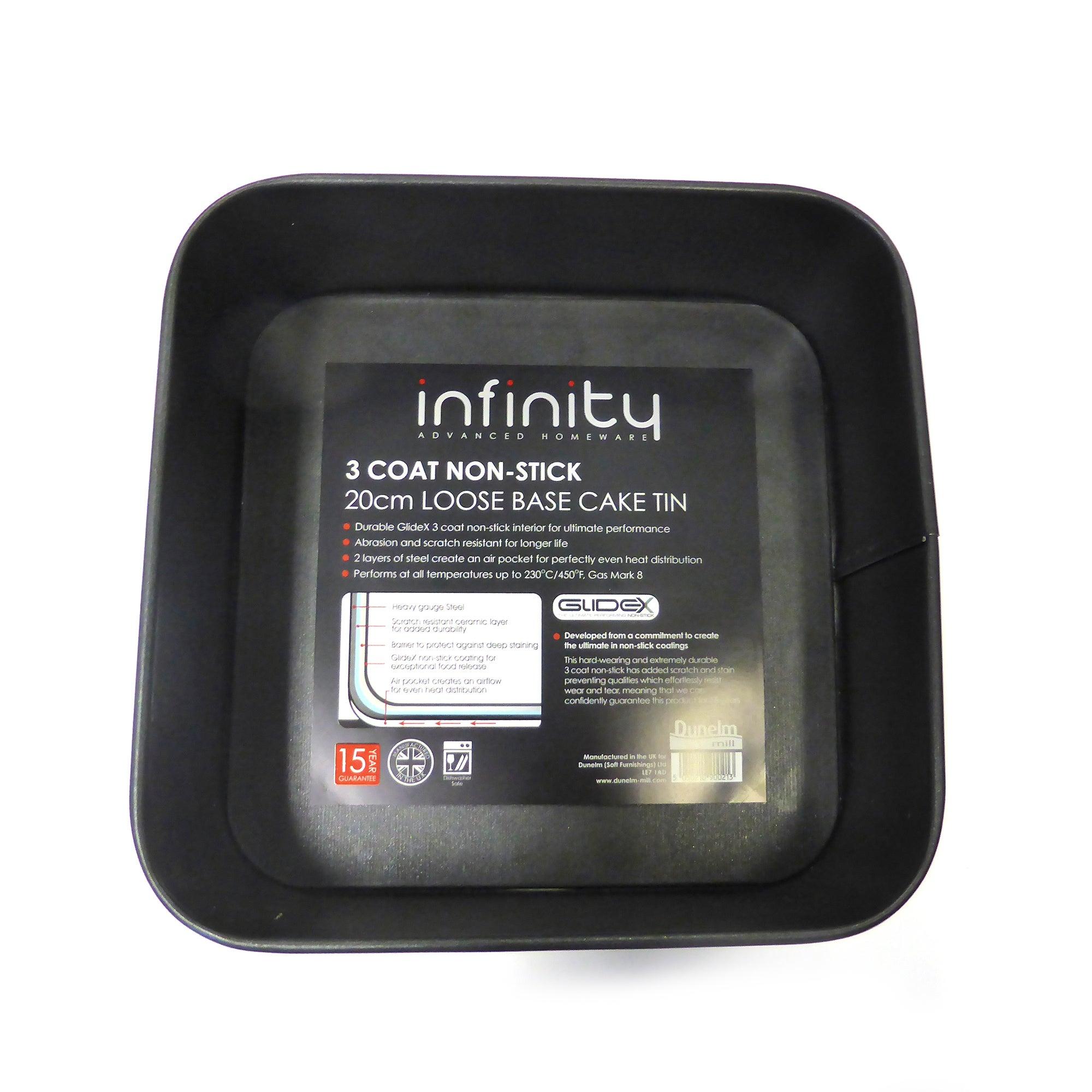 Infinity Glidex Deep Square Tin