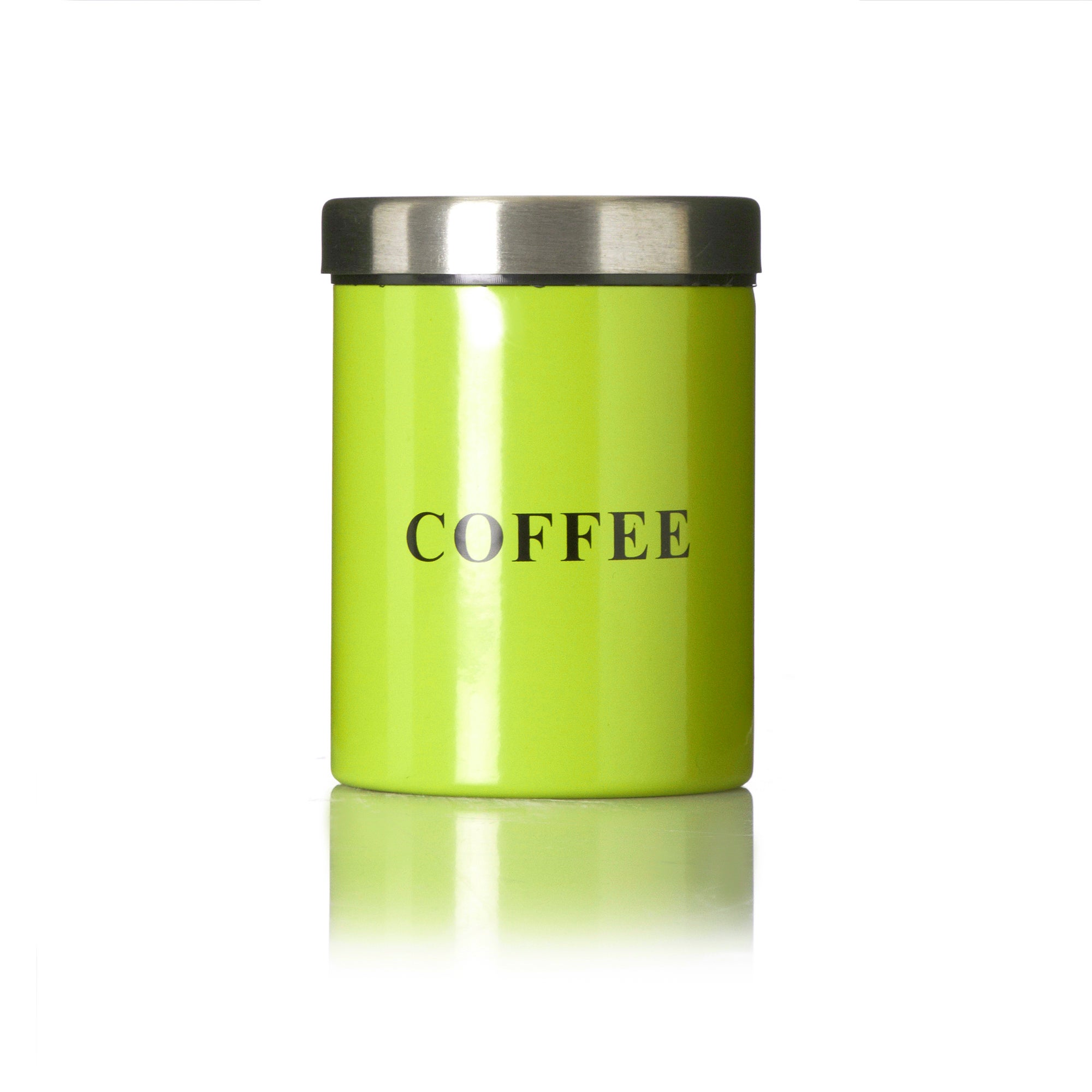 Lime Spectrum Collection Coffee Canister