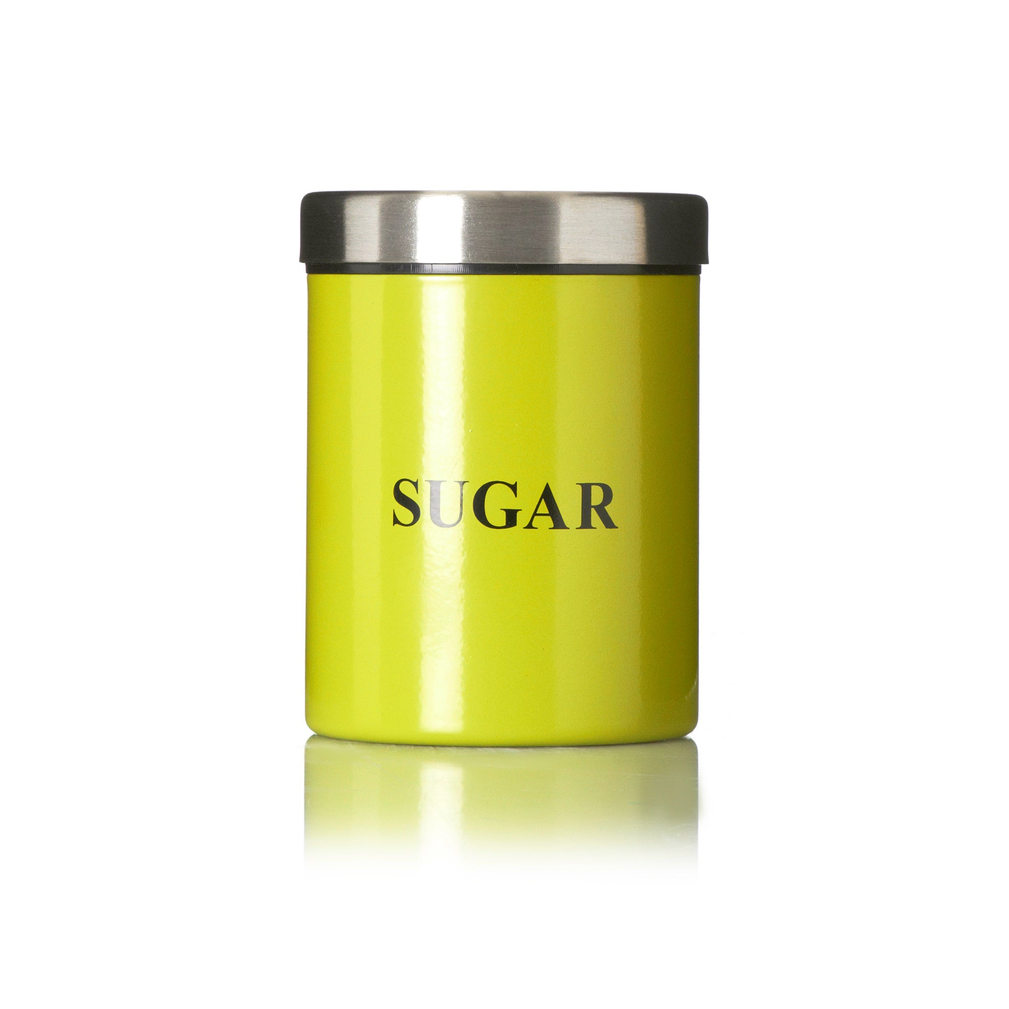 Lime Spectrum Collection Sugar Canister