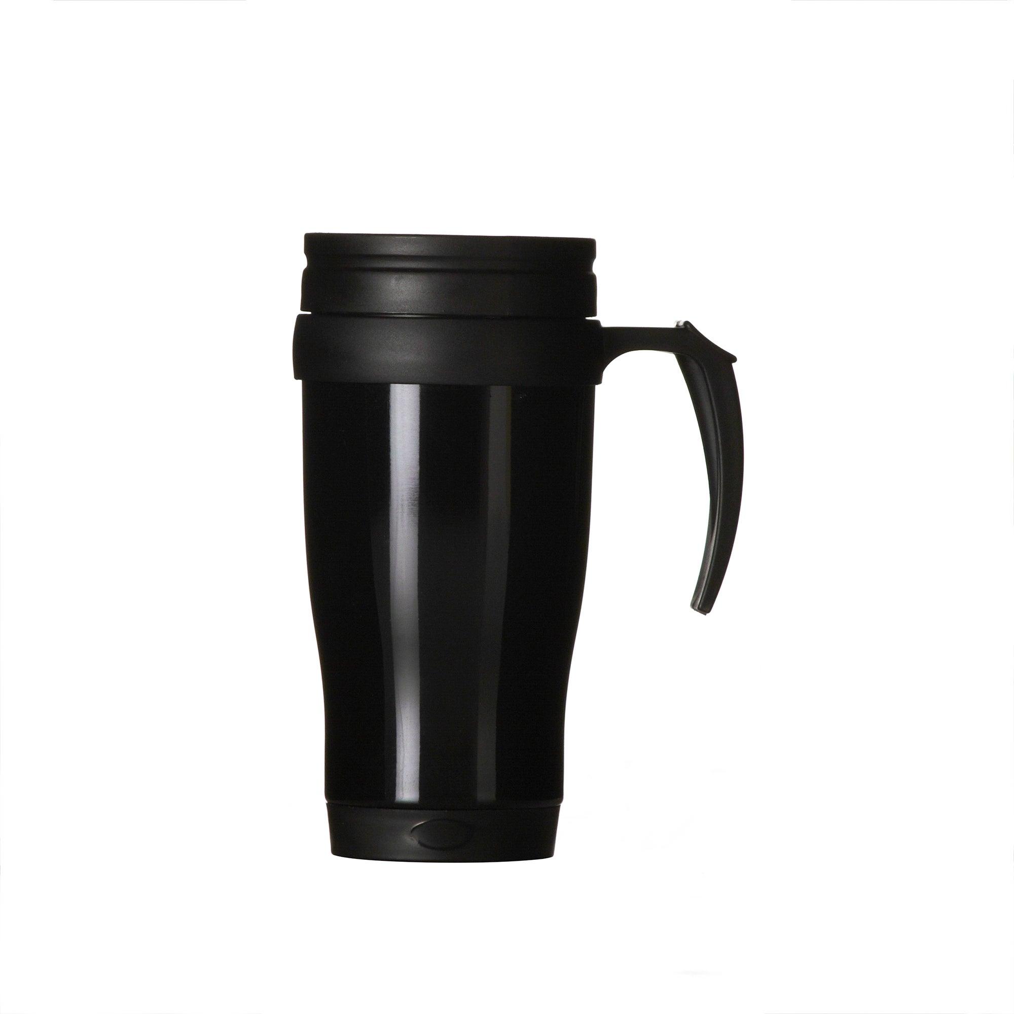 Black Spectrum Collection Stainless Steel Travel Mug