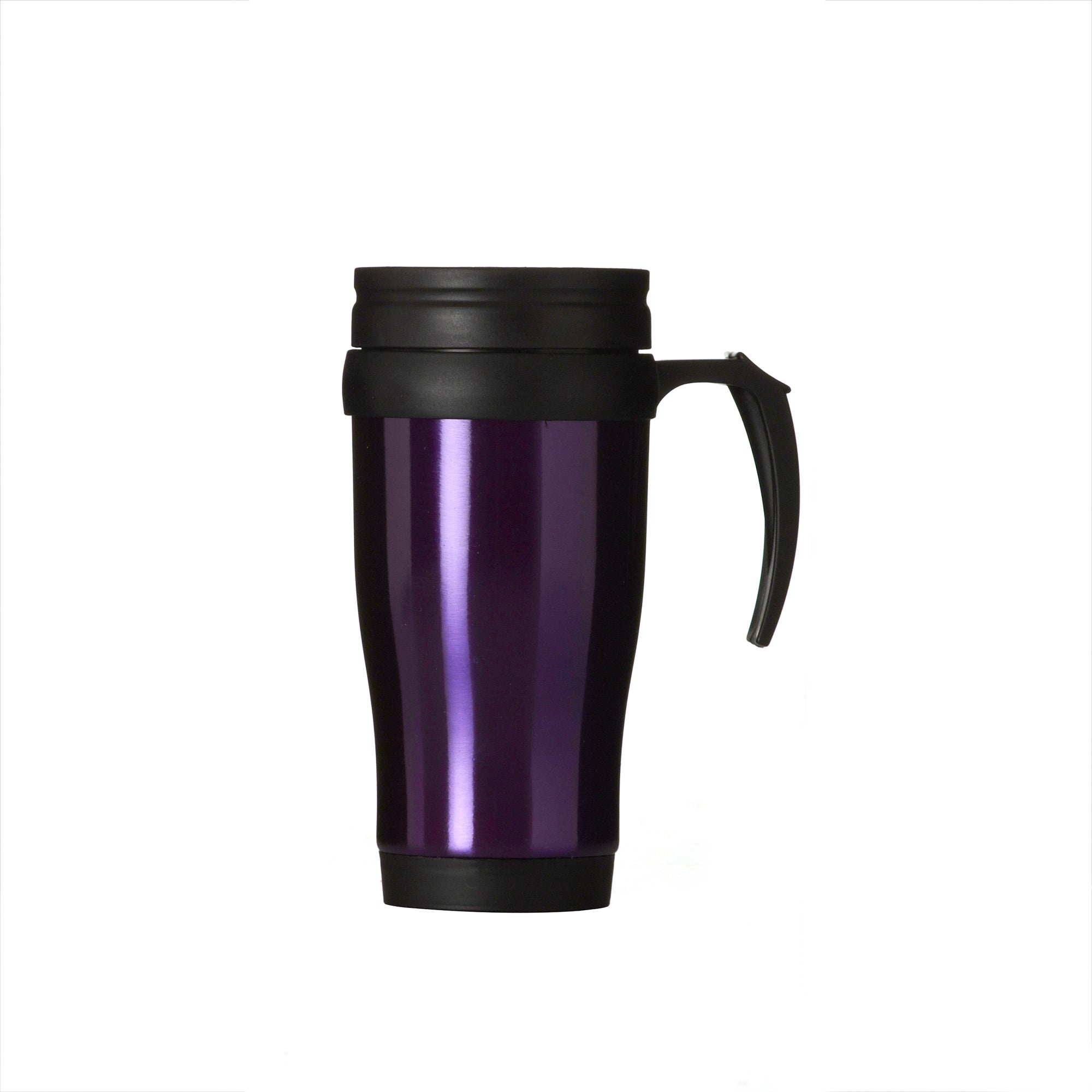 Purple Spectrum Collection Stainless Steel Travel Mug