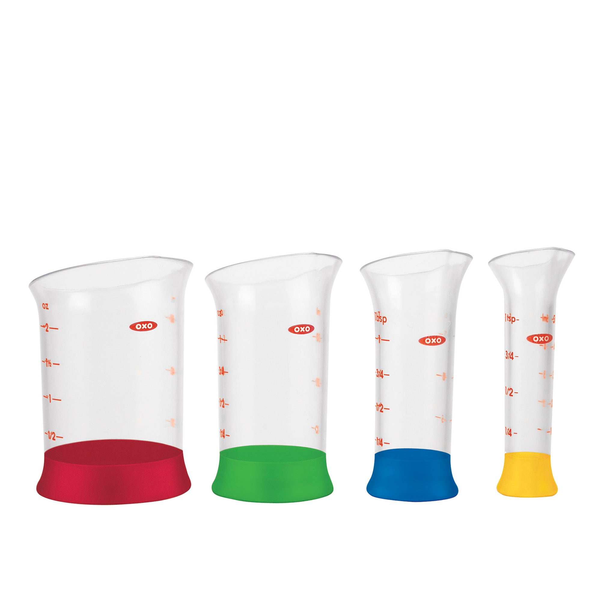 OXO Good Grips Set of Four Mini Measuring BeakerS