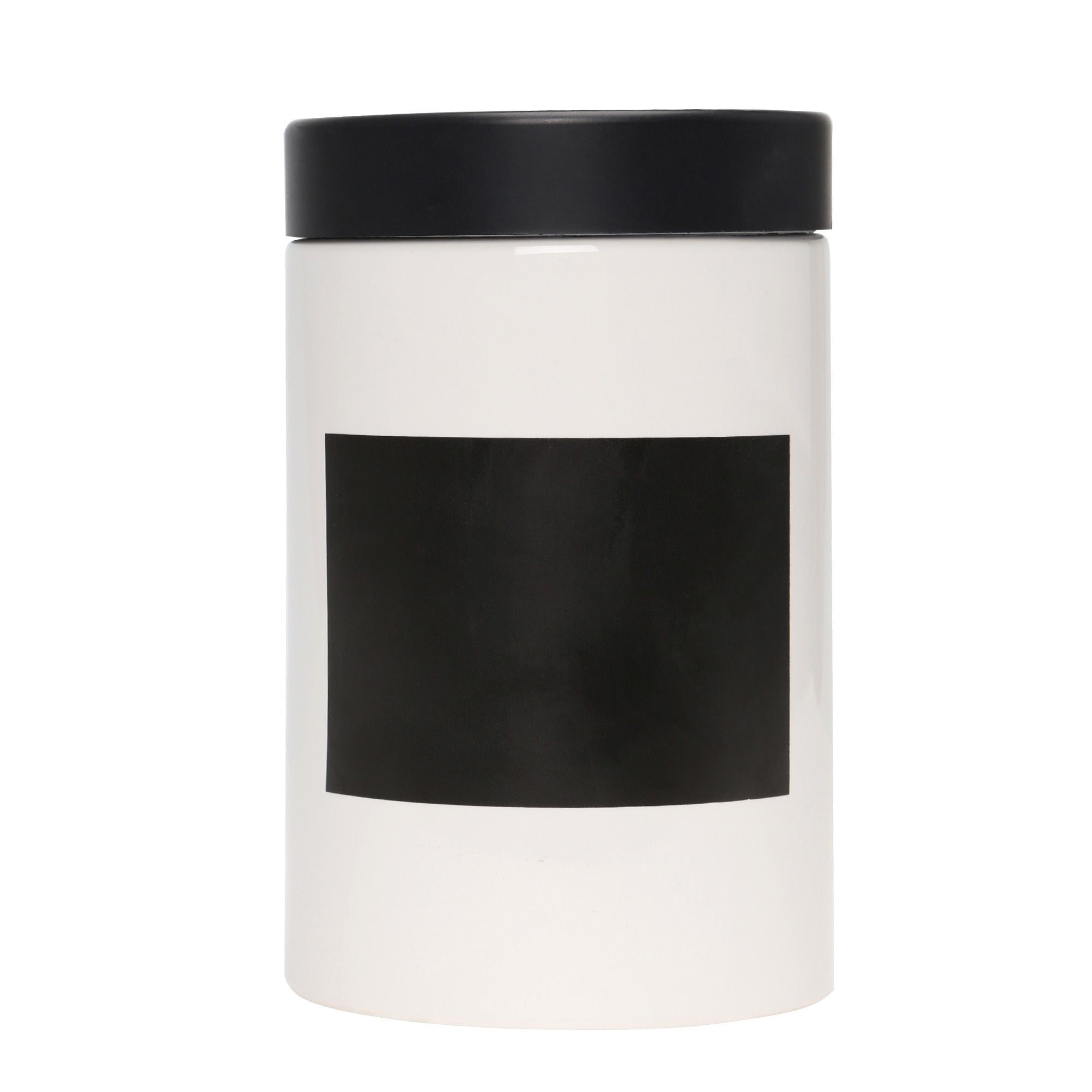 Chalk Board Canister with Chalk