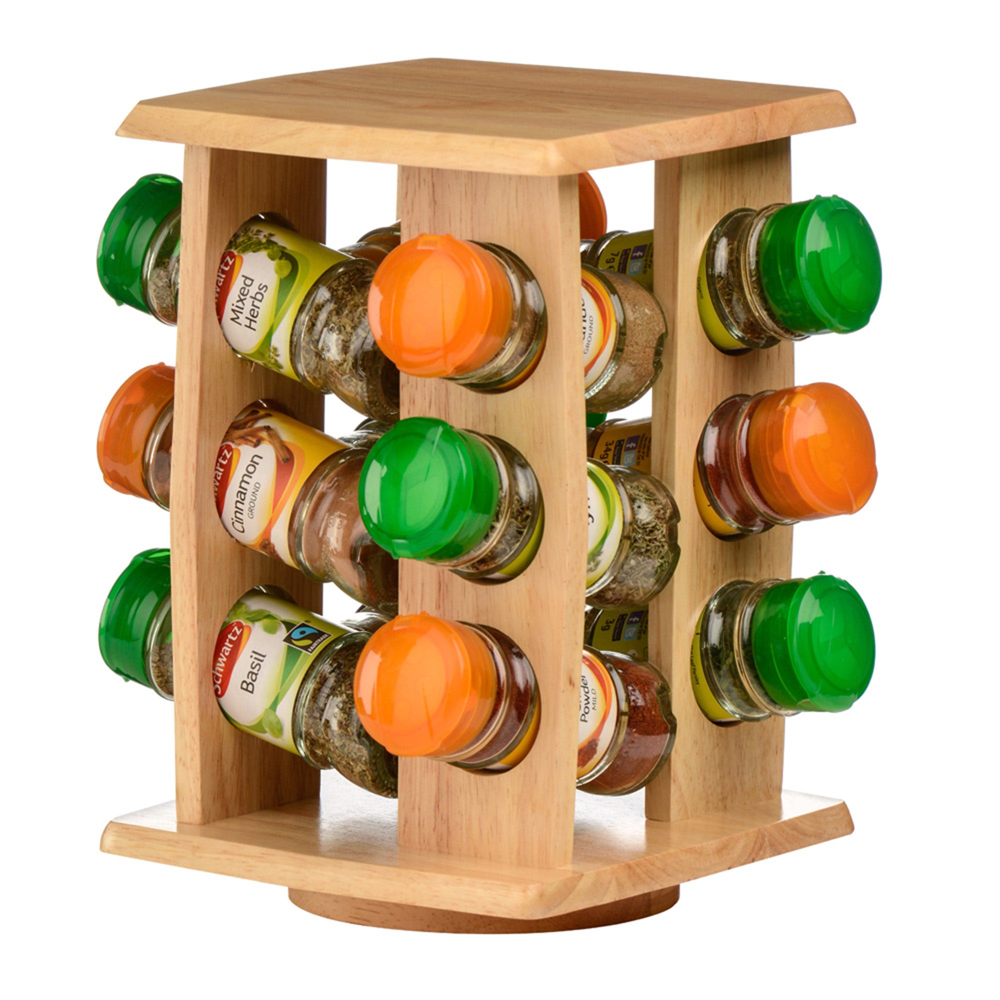 12 Jar Spice Rack