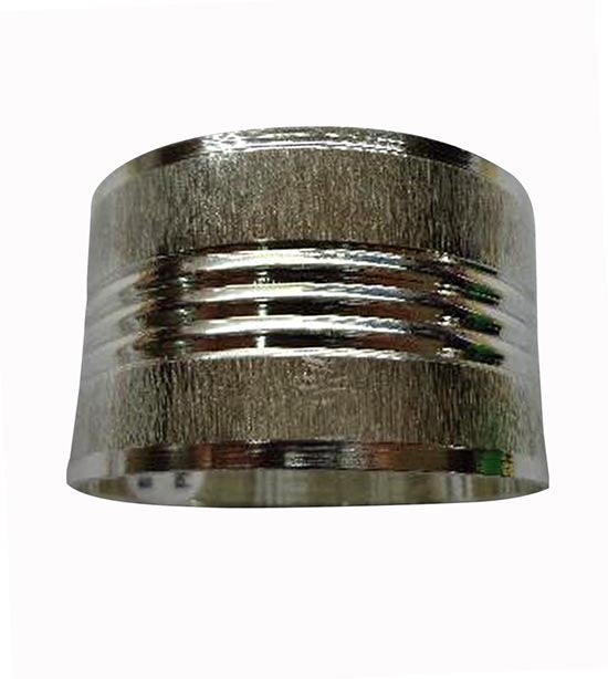 Ribbed Metal Band Napkin Ring