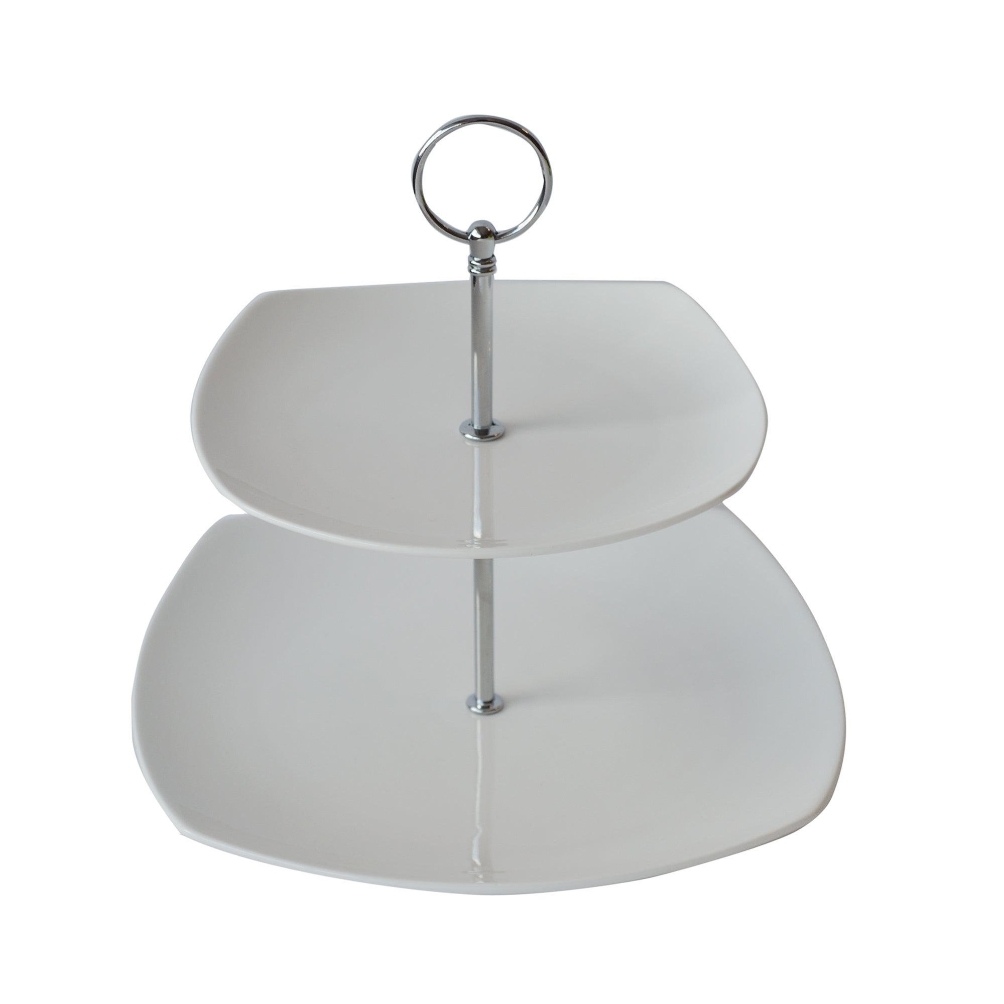 Pausa Collection Two Tier Cake Stand