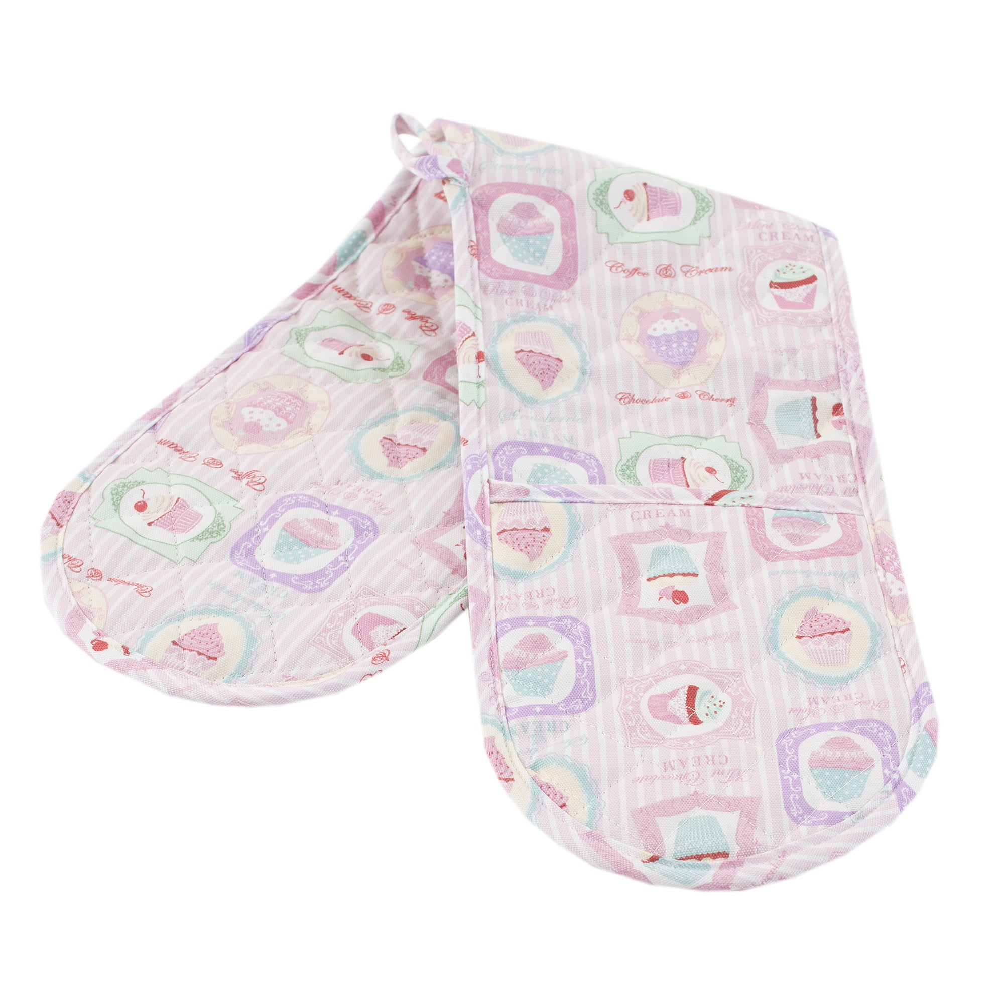 Tea Party Collection Double Oven Glove
