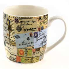 Postcard Barrel Mug