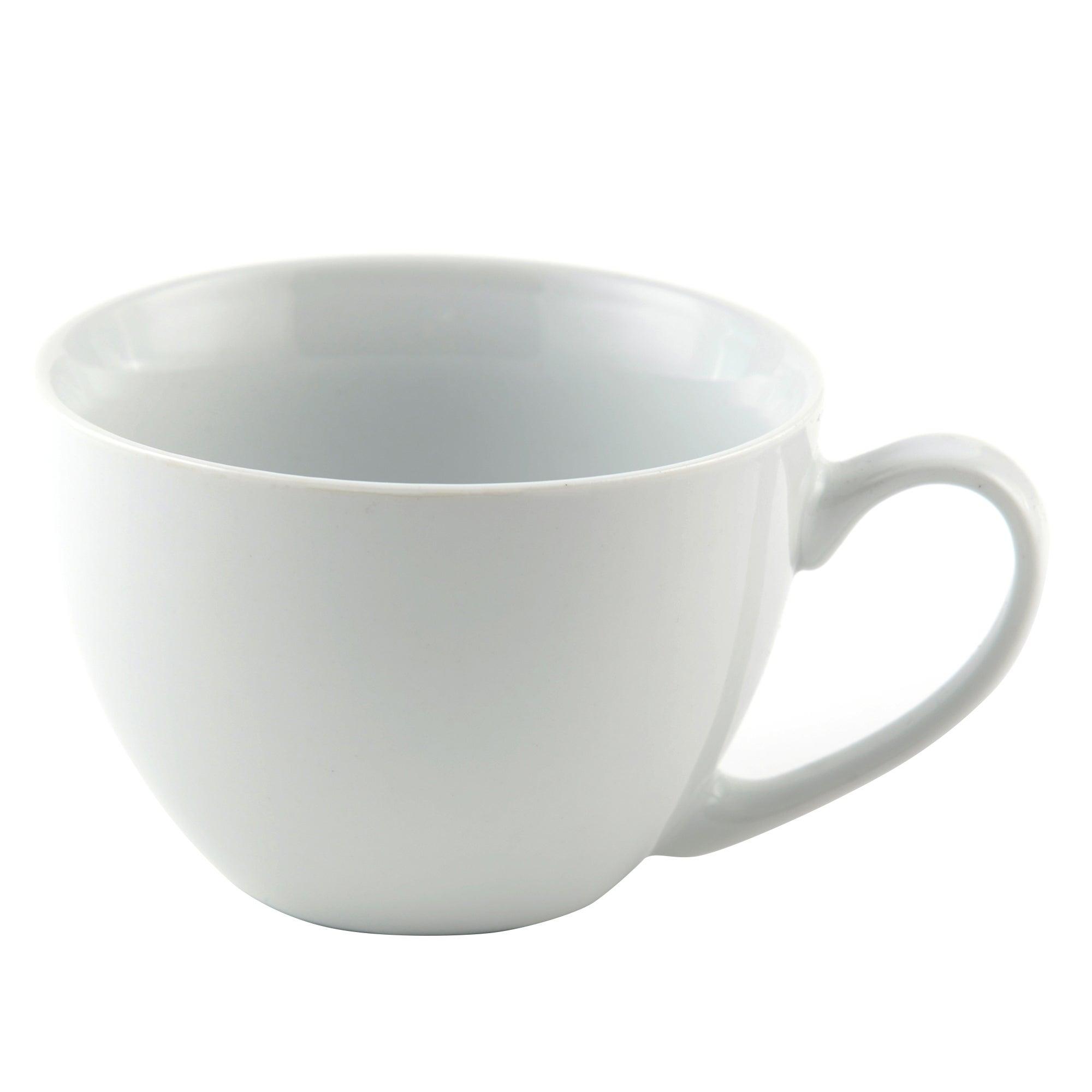 White Cappuccino Mug