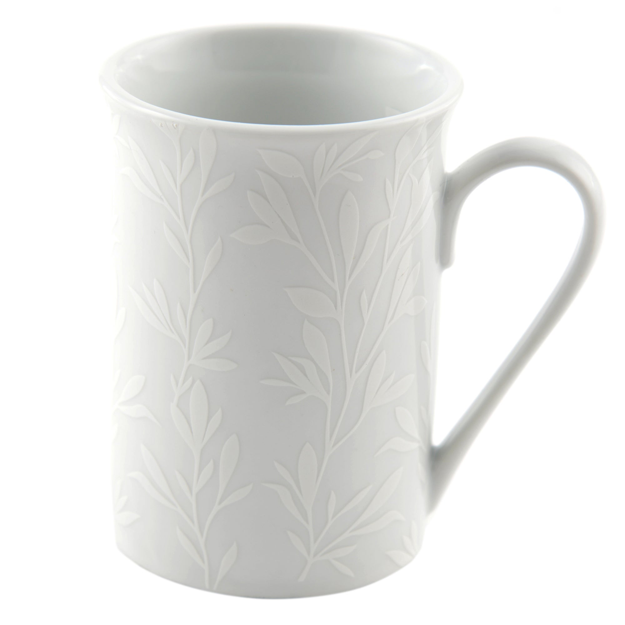 White on White Collection Mug