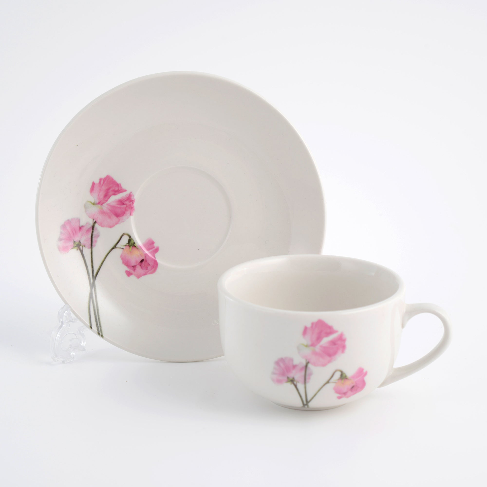 Sweet Pea Collection Cup and Saucer