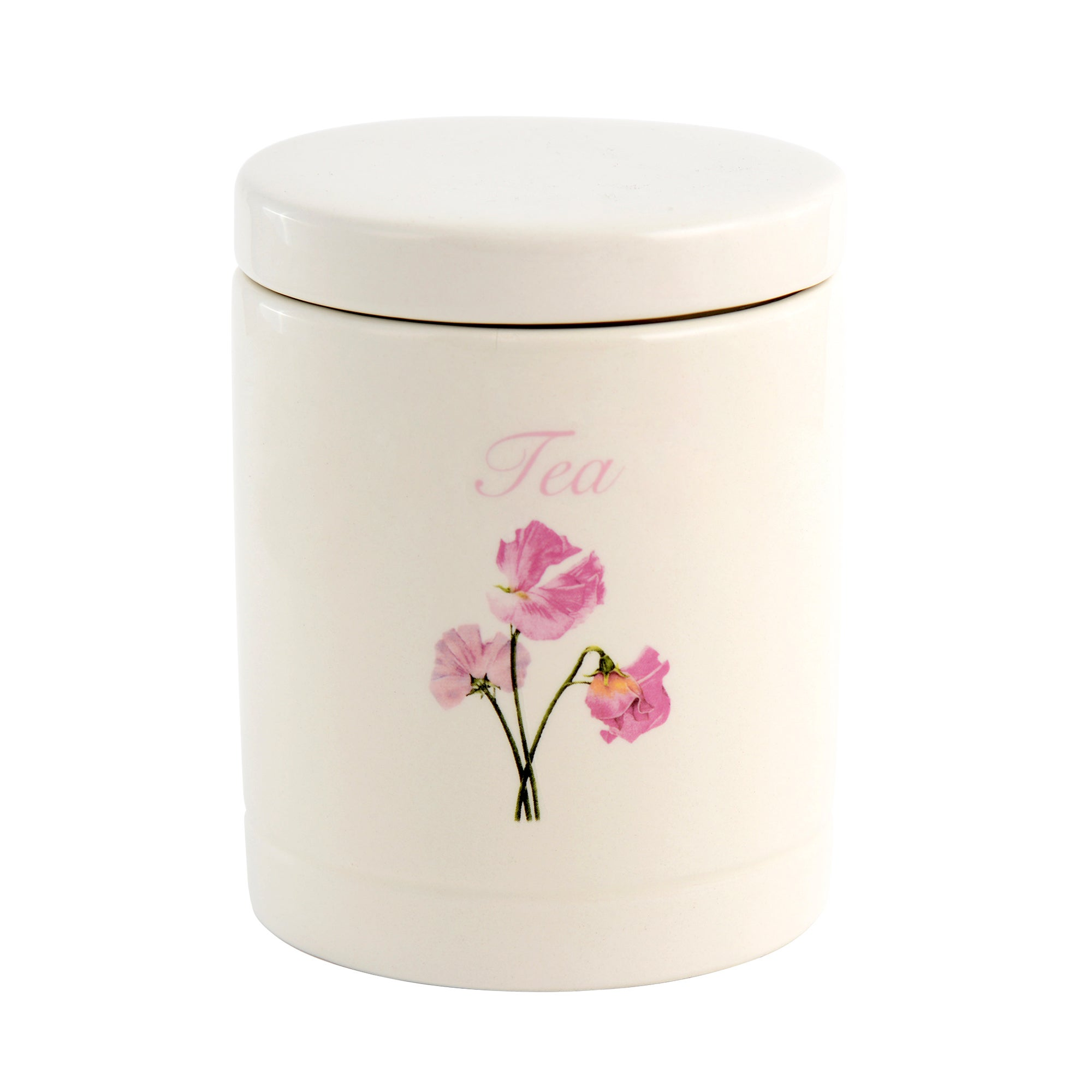 Sweet Pea Collection Tea Storage Jar