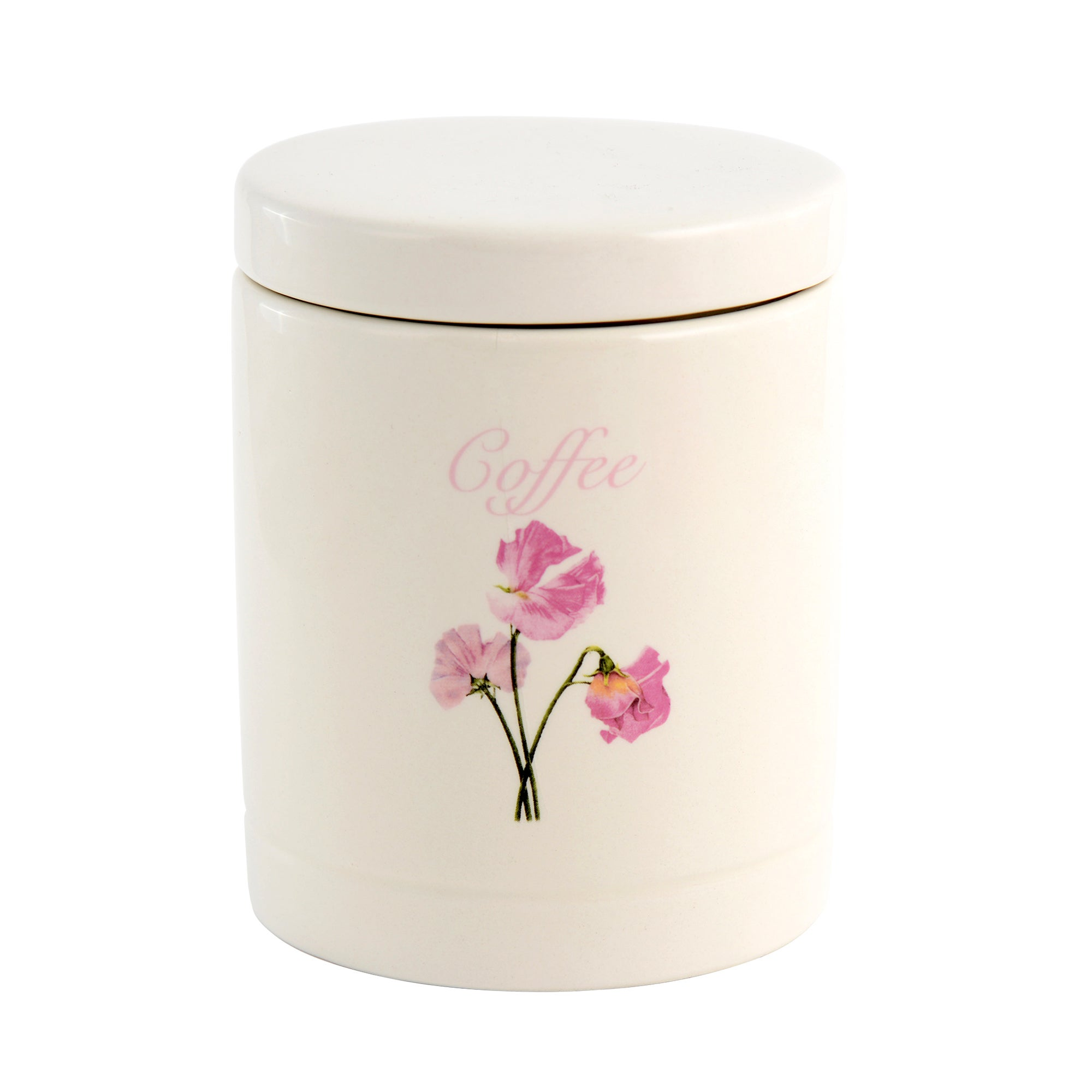 Sweet Pea Collection Coffee Storage Jar