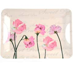 Sweet Pea Collection Large Melamine Tray