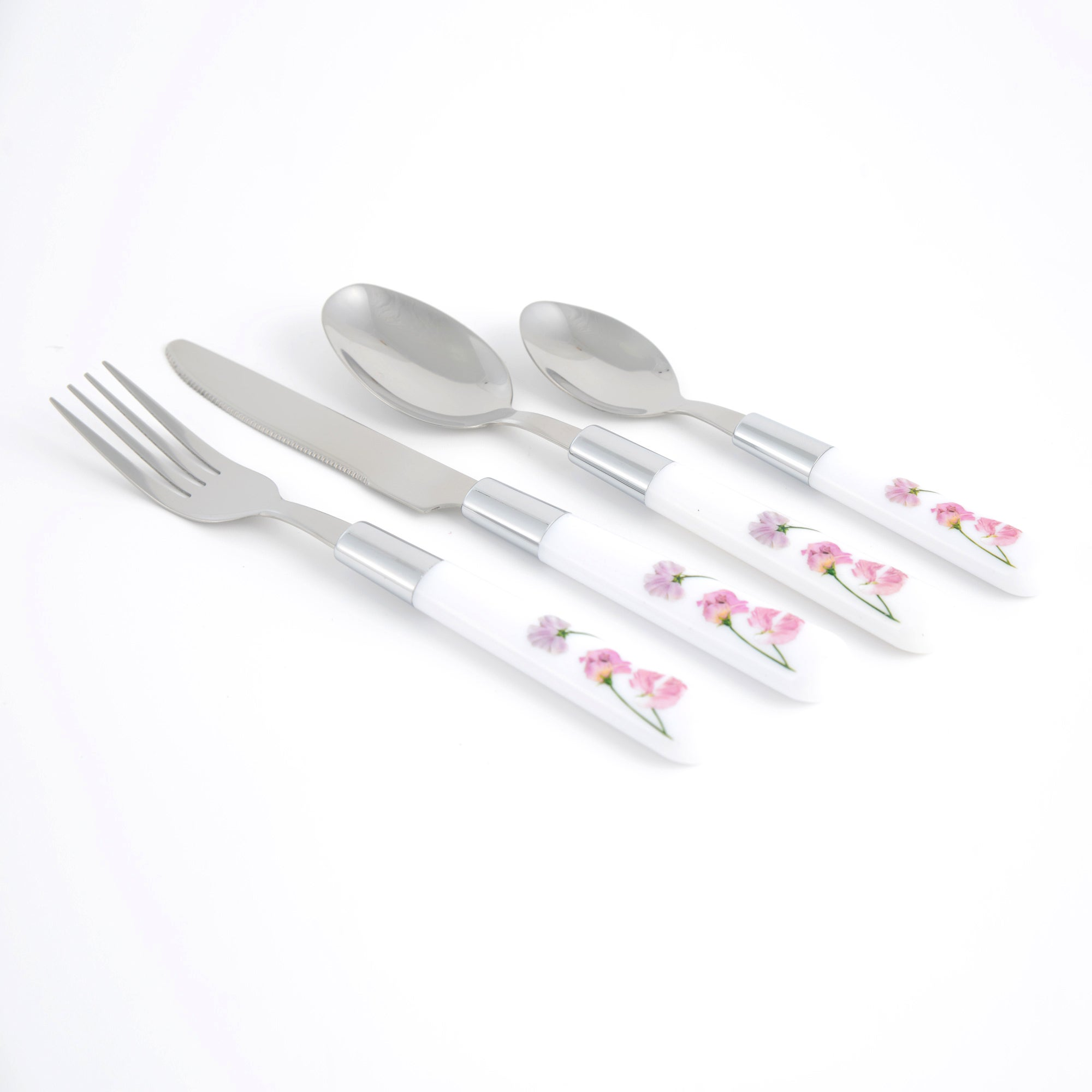 Sweet Pea Collection 16 Piece Cutlery Set