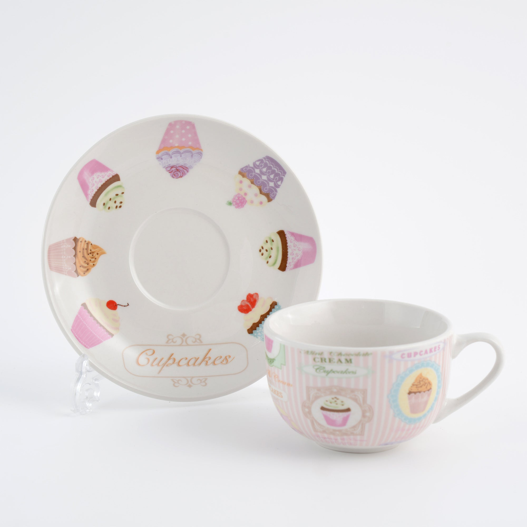 Tea Party Collection Cup and Saucer