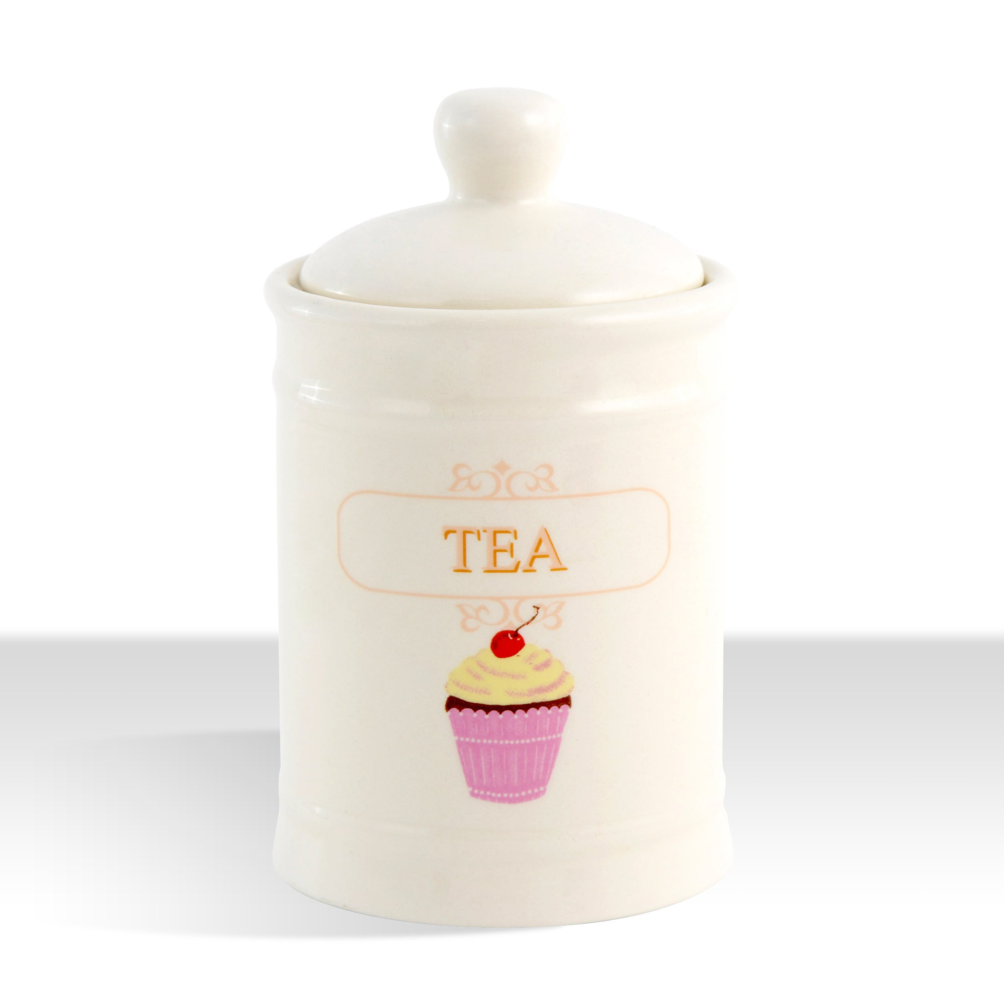 Tea Party Collection Tea Storage Jar