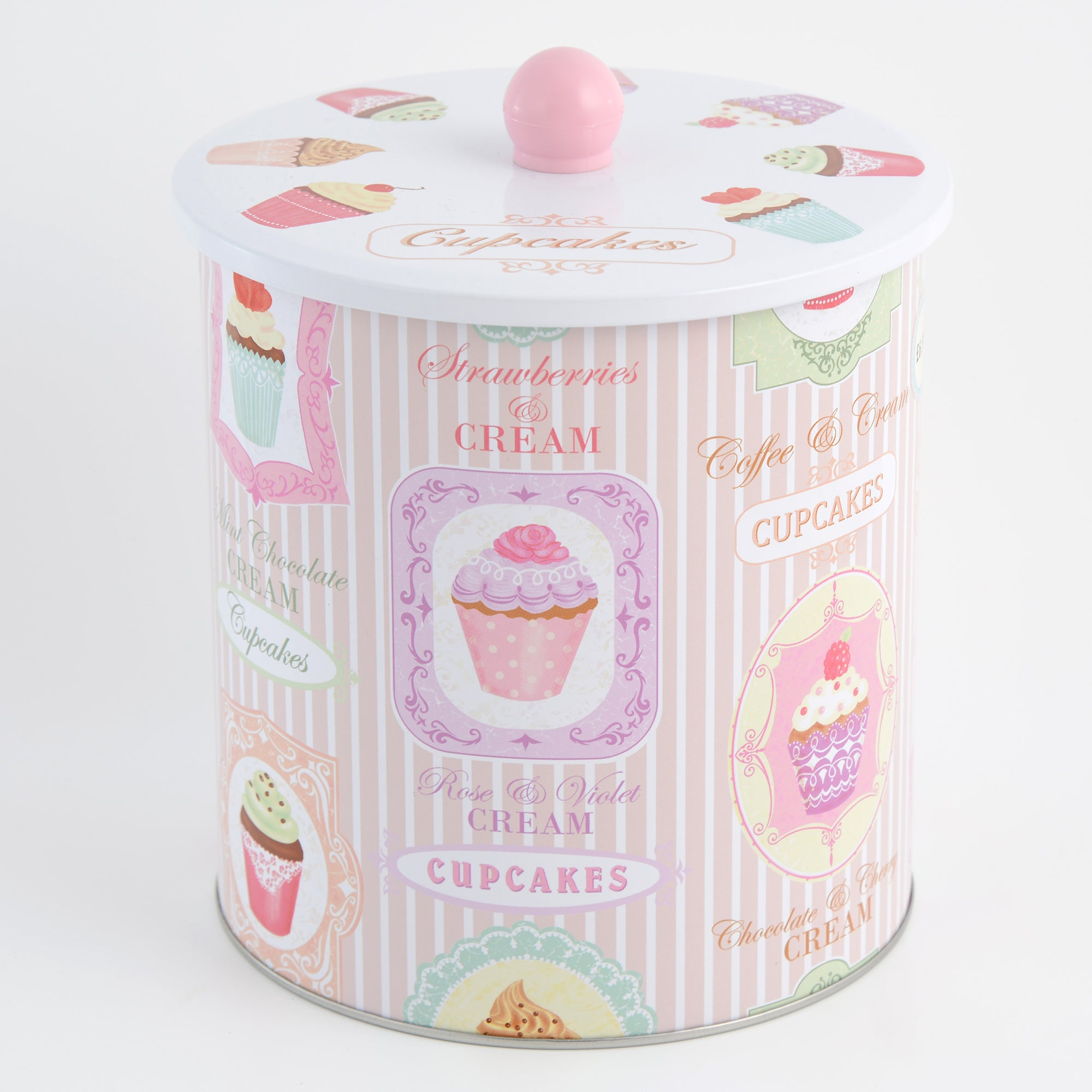 Tea Party Collection Biscuit Tin