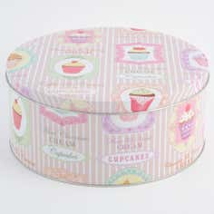 Tea Party Collection Large Cake Tin