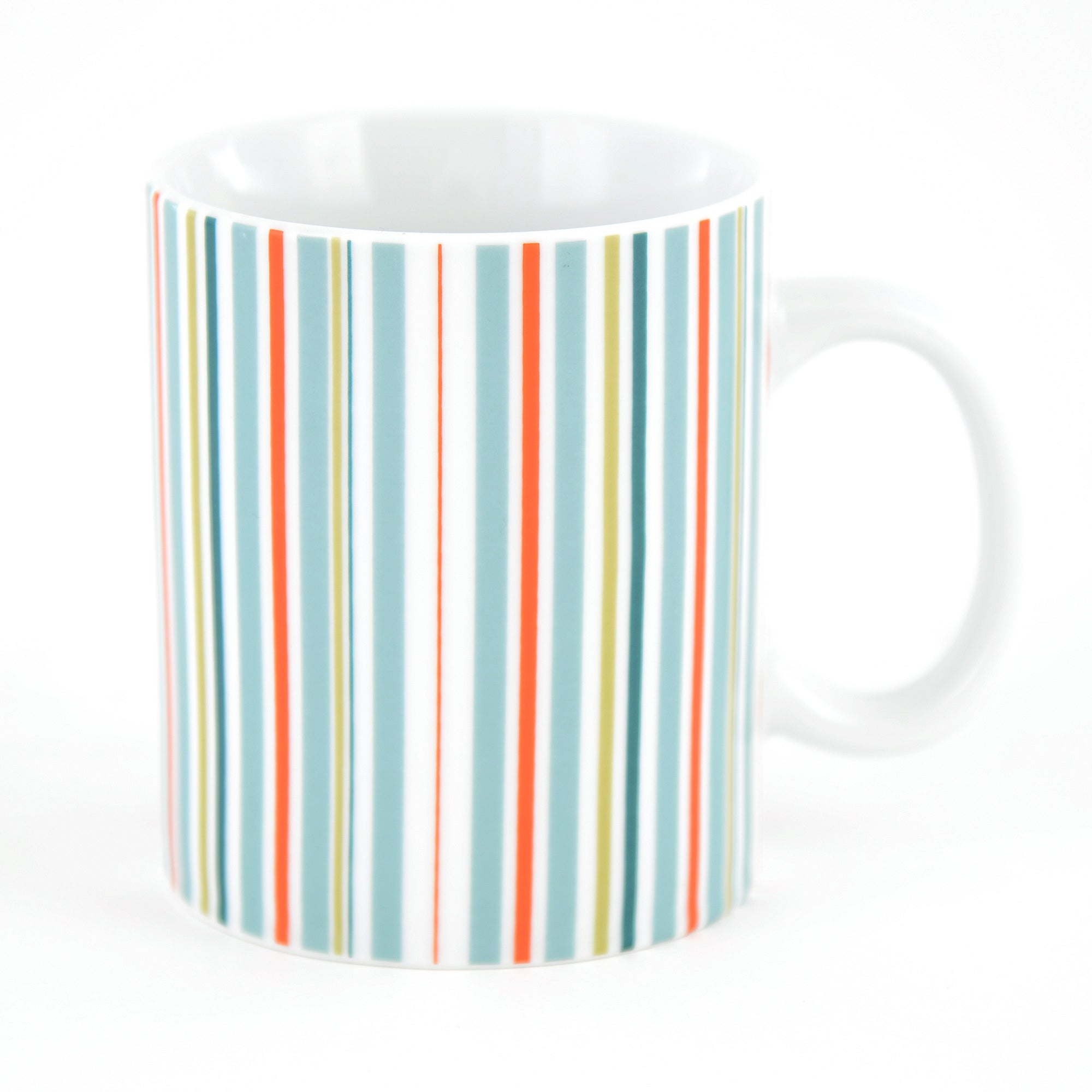 Striped Pint Mug