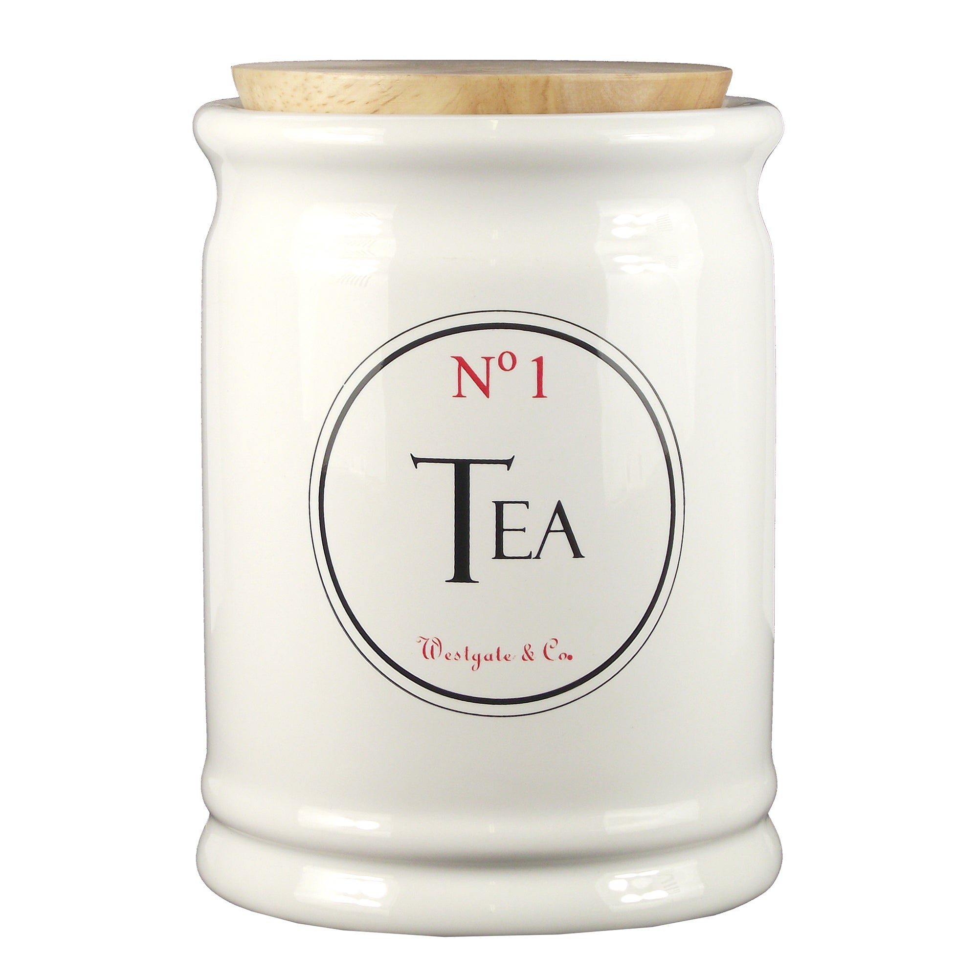 Vintage Tea Sign Collection Tea Canister