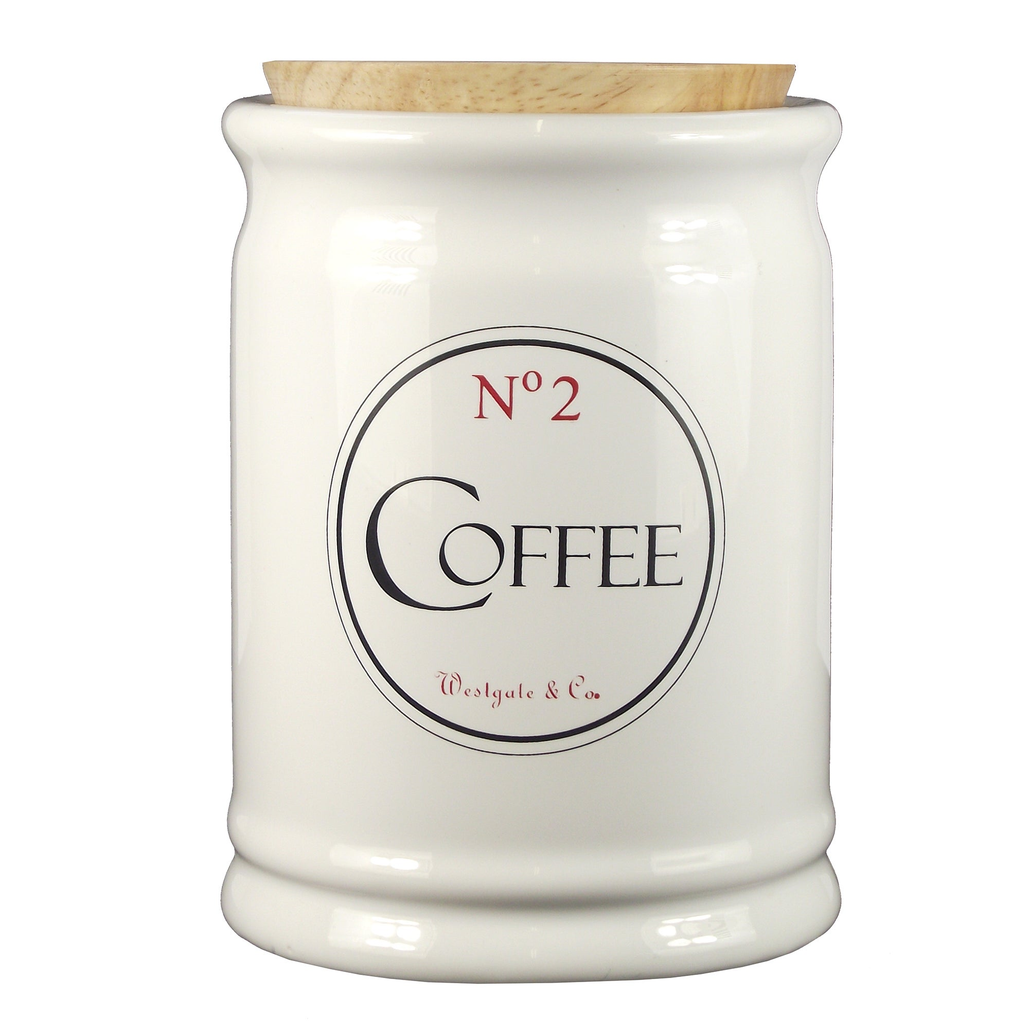 Vintage Tea Sign Collection Coffee Canister