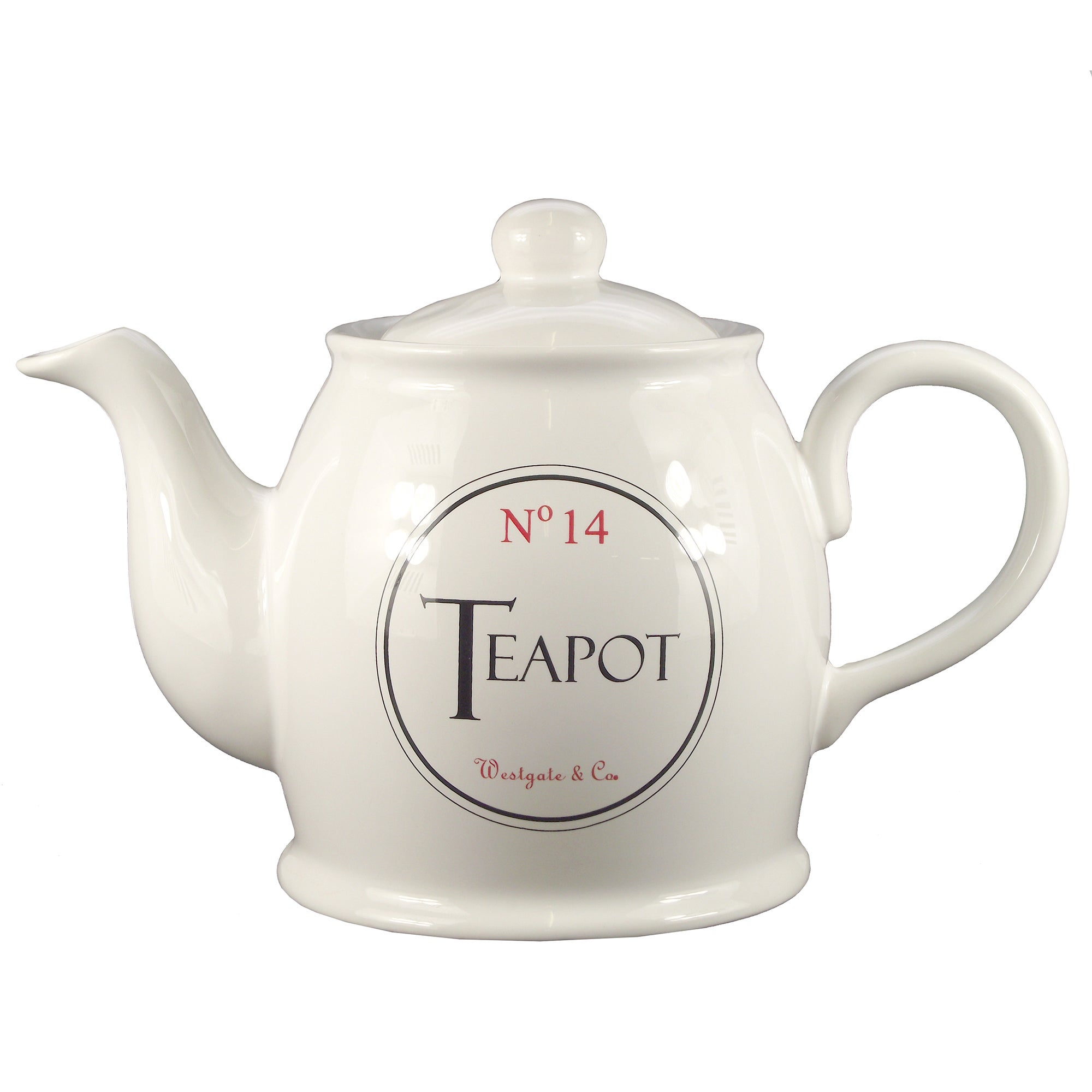 Vintage Tea Sign Collection Teapot