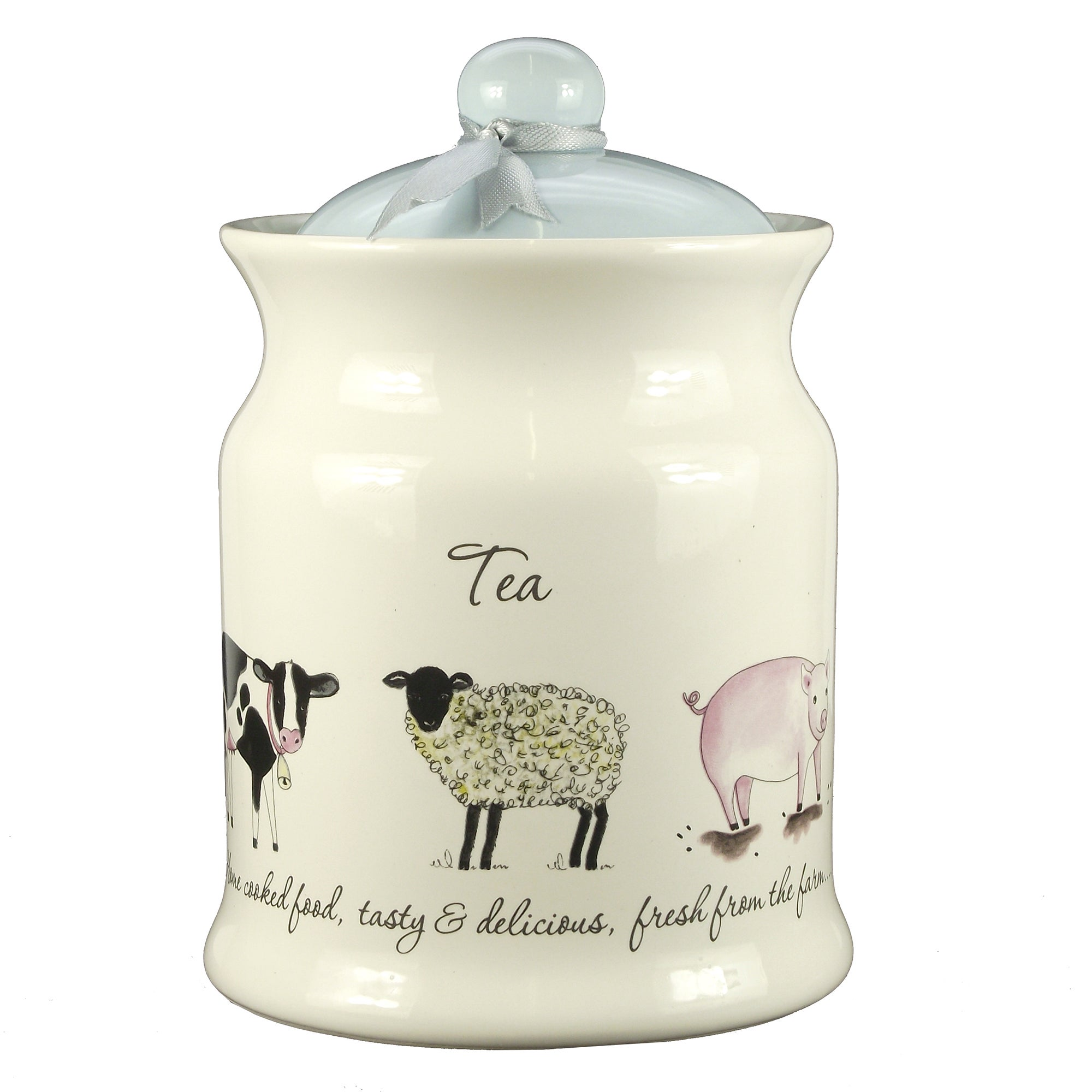 Bakewell Farm Collection Tea Canister