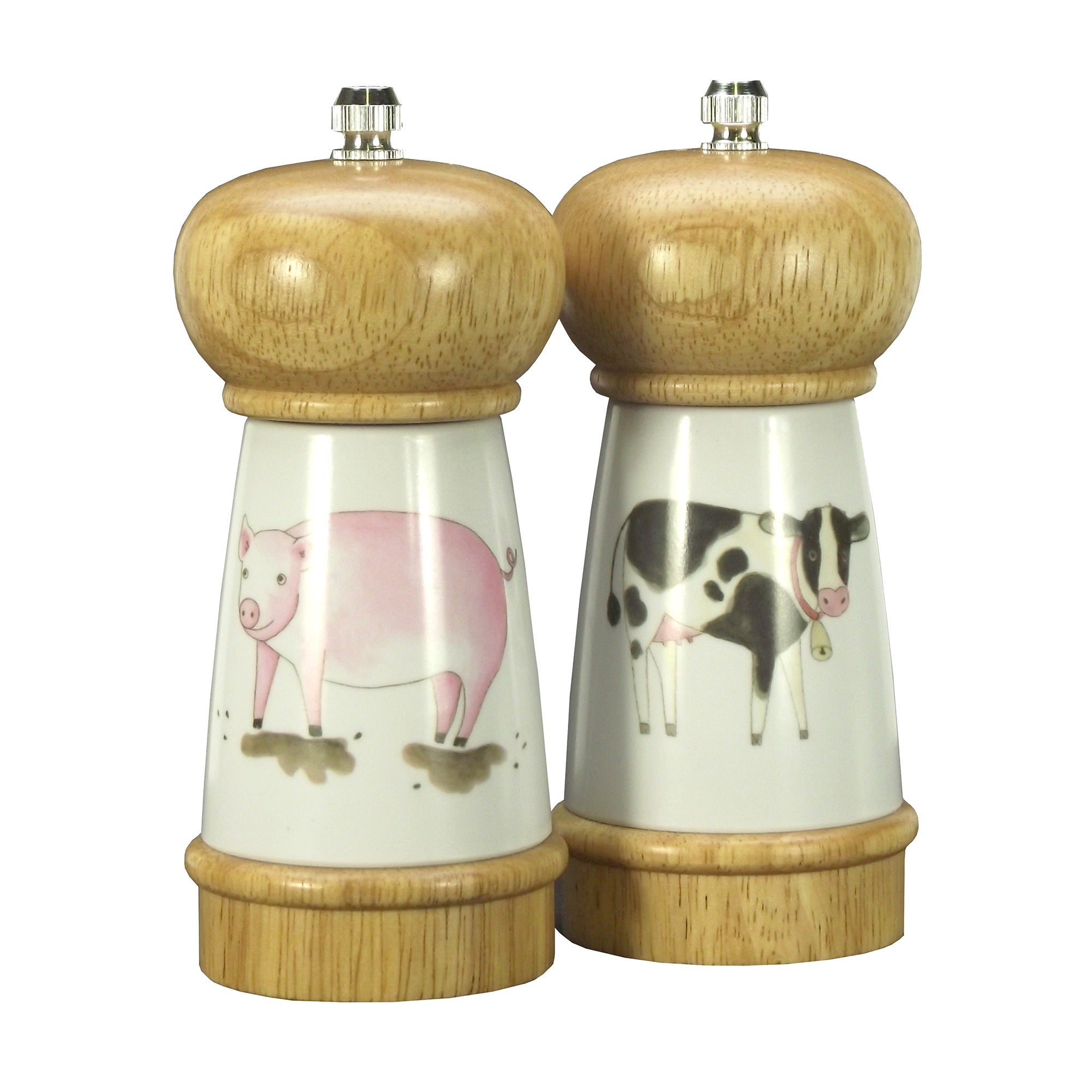 Bakewell Farm Collection Salt and Pepper Mills