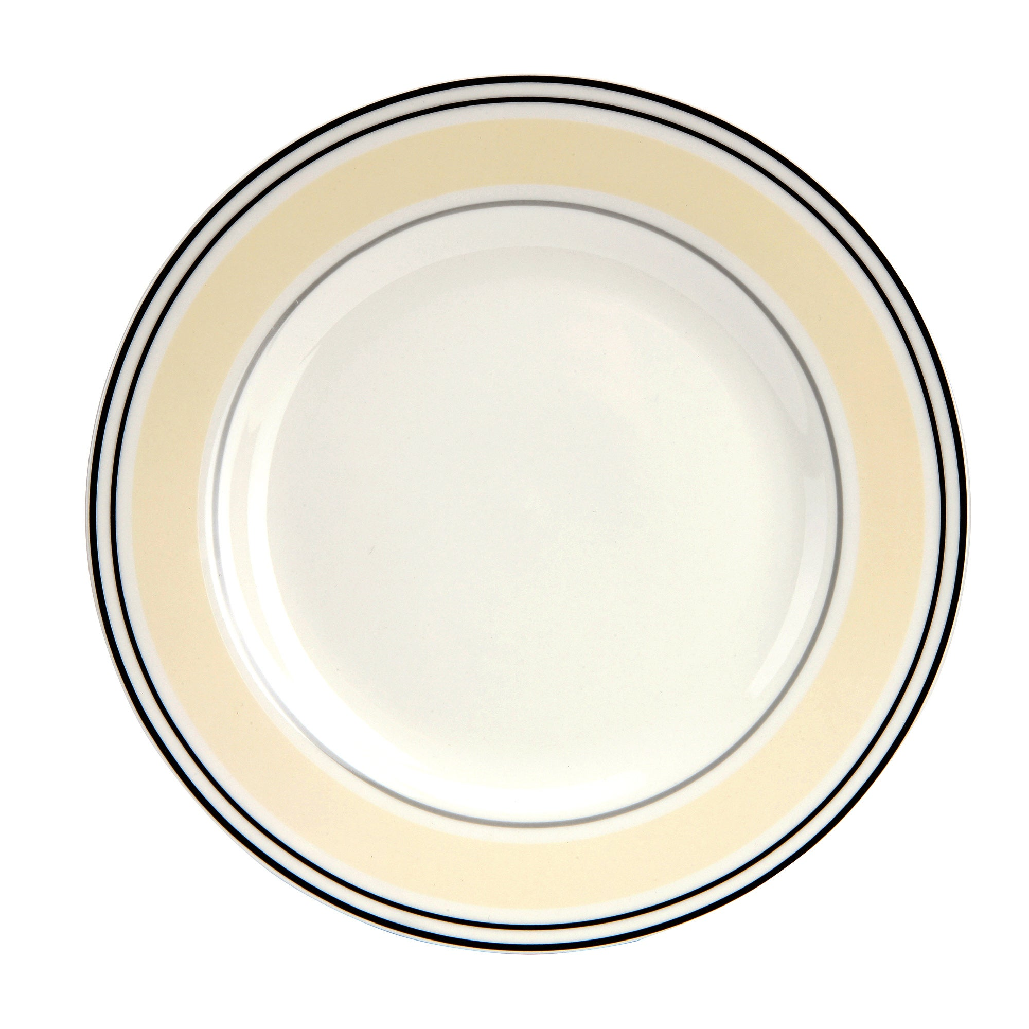 City Stripe Collection Dinner Plate