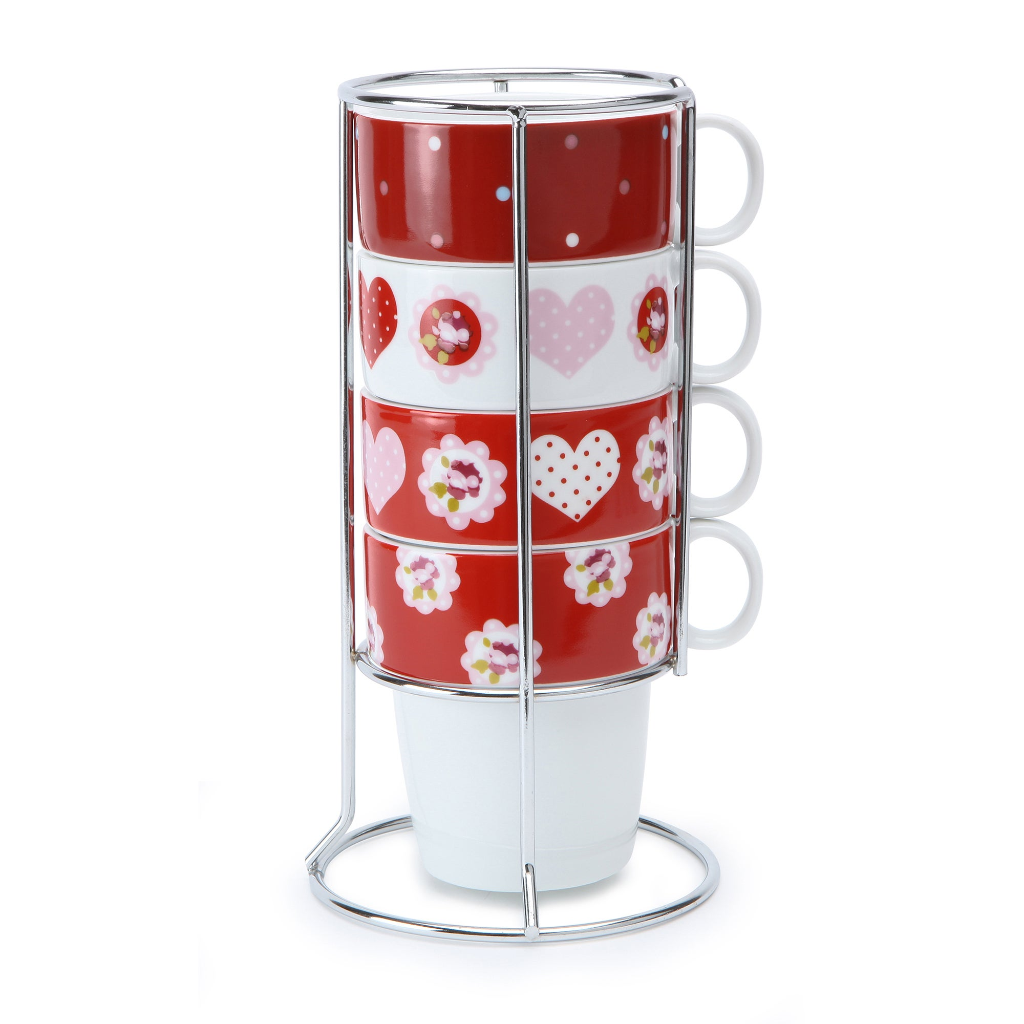 Rose and Ellis Allexton Collection Stacking Mugs