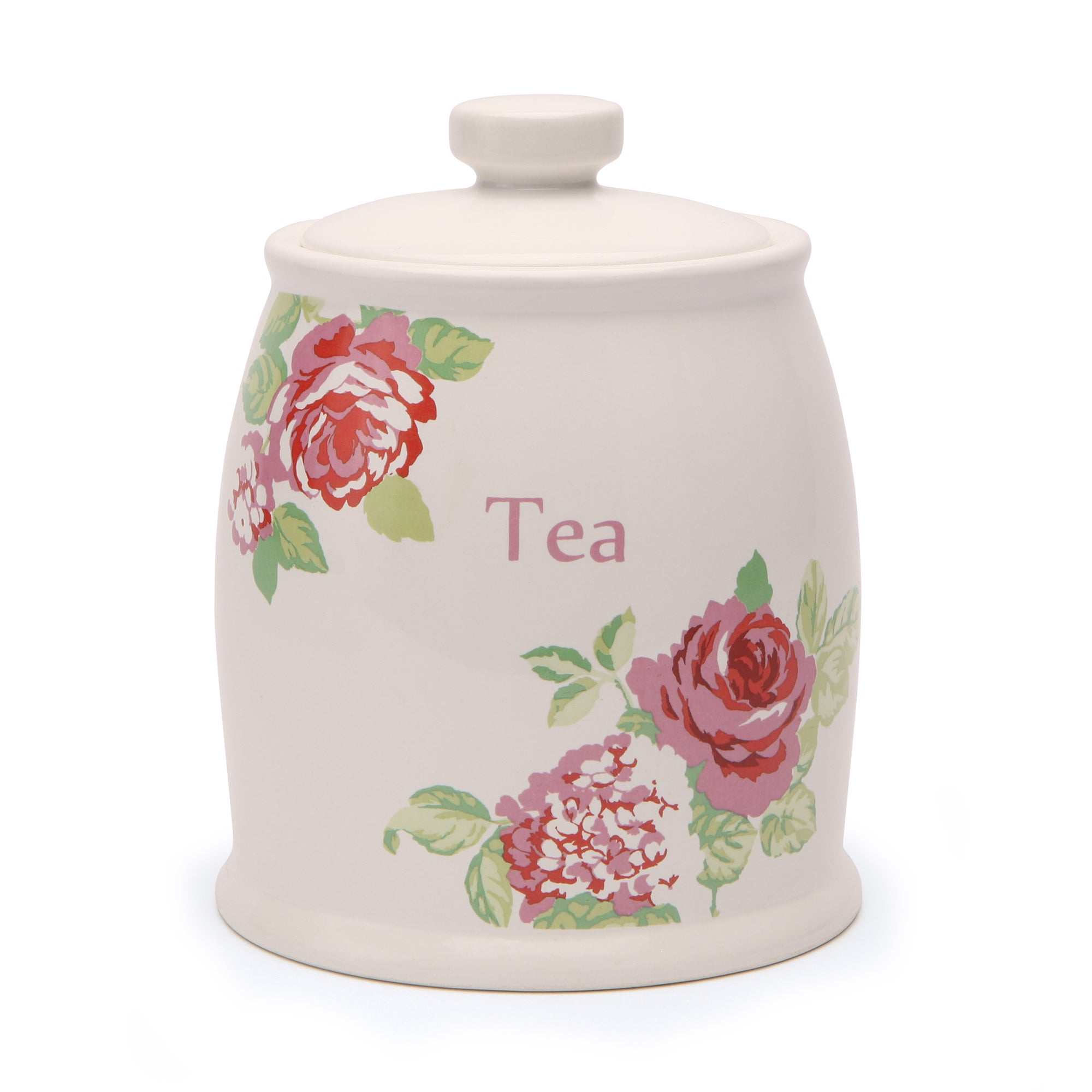 Rose and Ellis Clarendon Collection Tea Canister