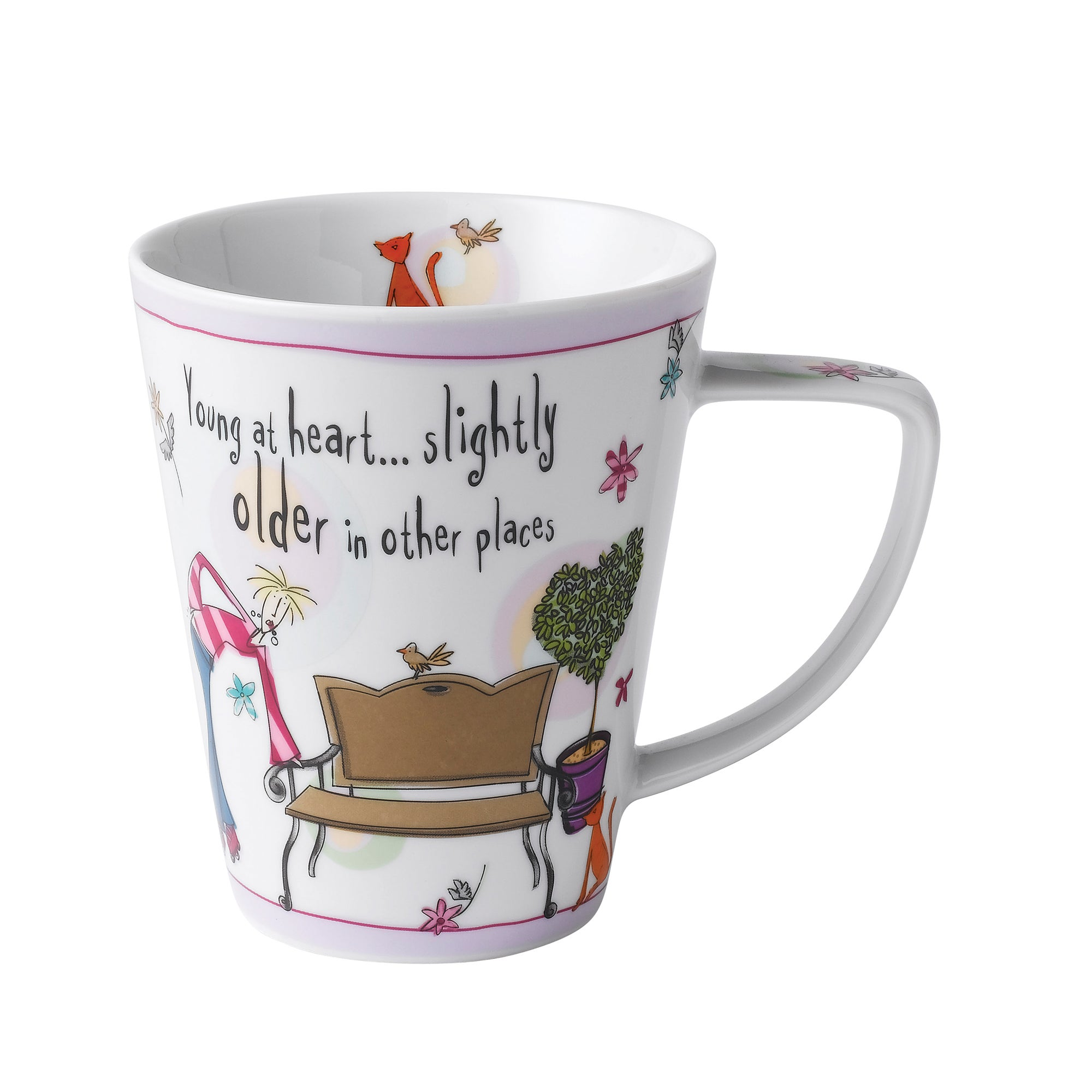 Johnson Bros Young At Heart Mug