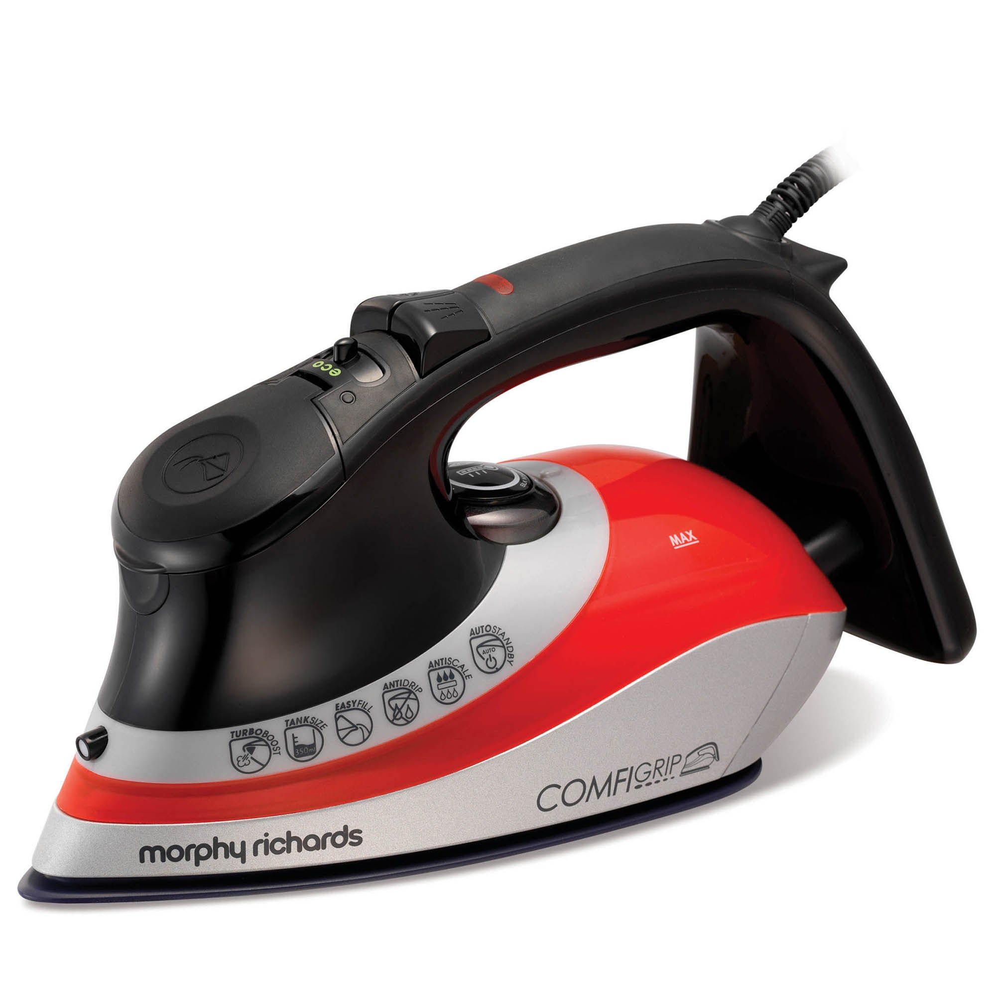 Morphy Richards 301011 2400w Red Ionic Iron