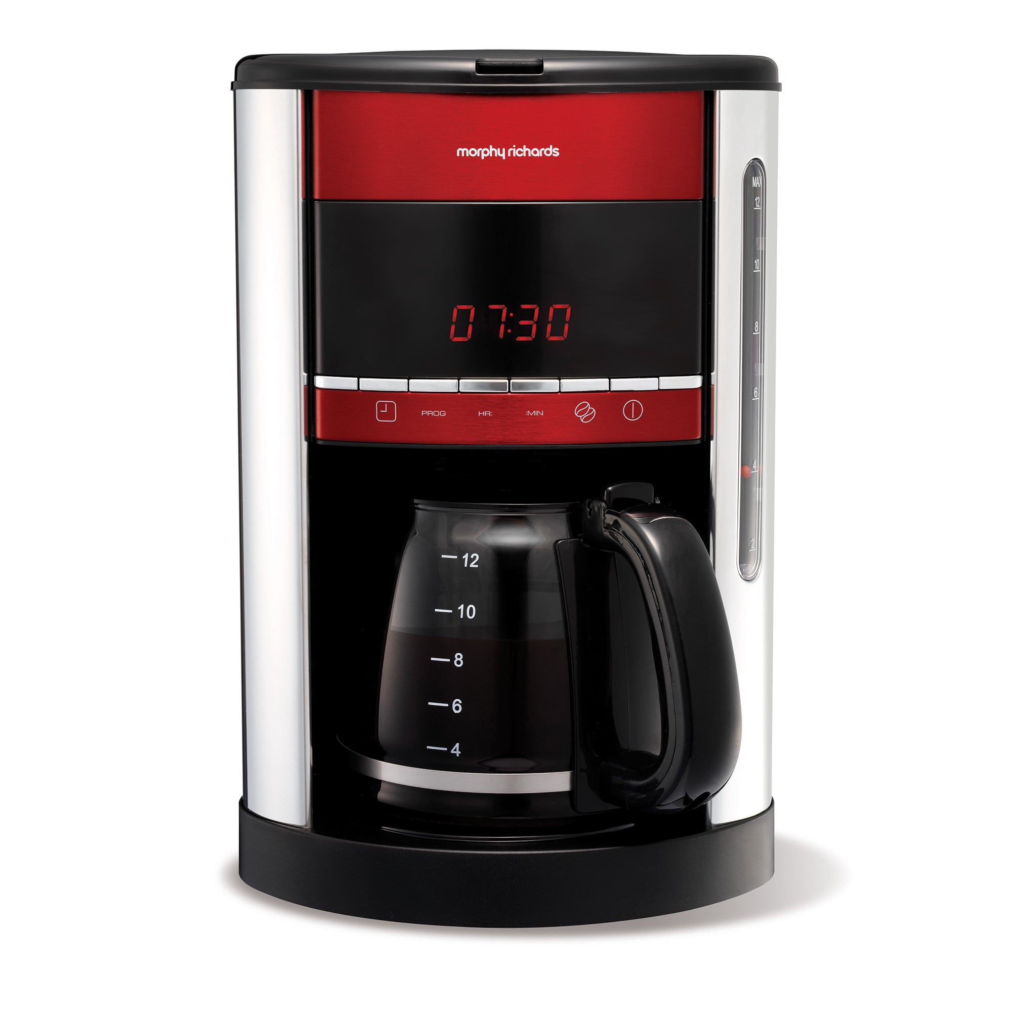 Morphy Richards 47089 Red Accents Coffee Maker