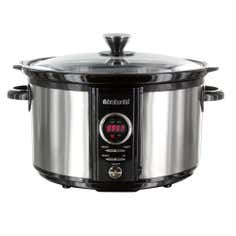 Brabantia 6.5 Litre Digital Slow Cooker