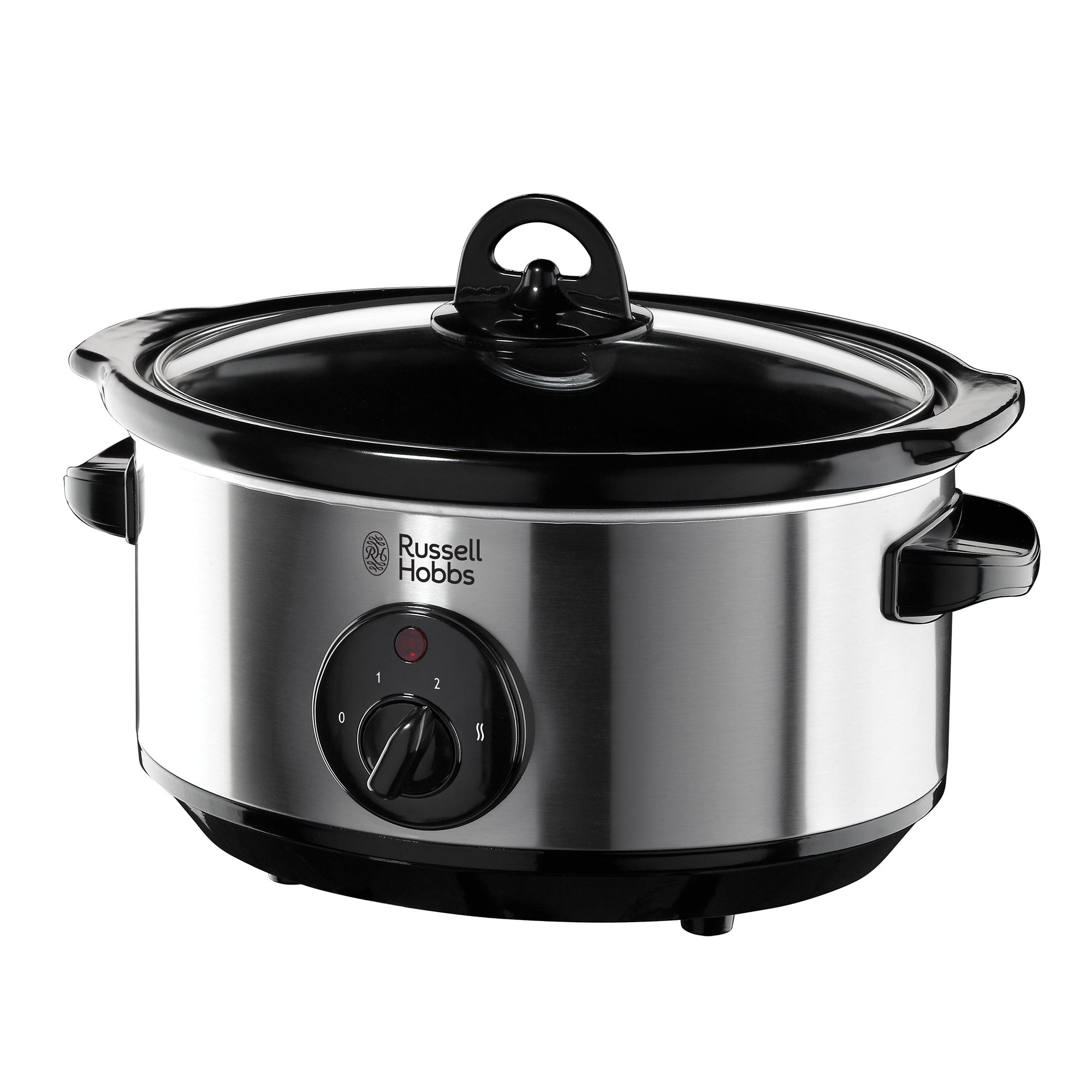 Russell Hobbs 19790 Stainless Steel Silver Slow Cooker